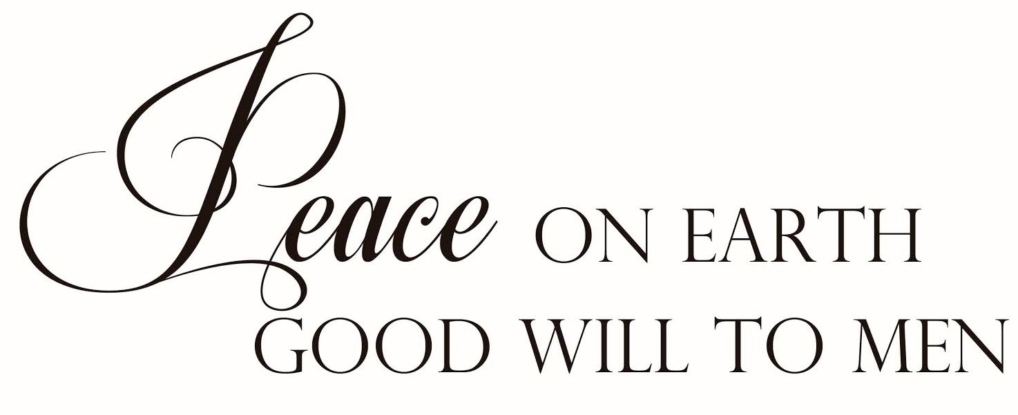 PeaceOnEarthPrintable