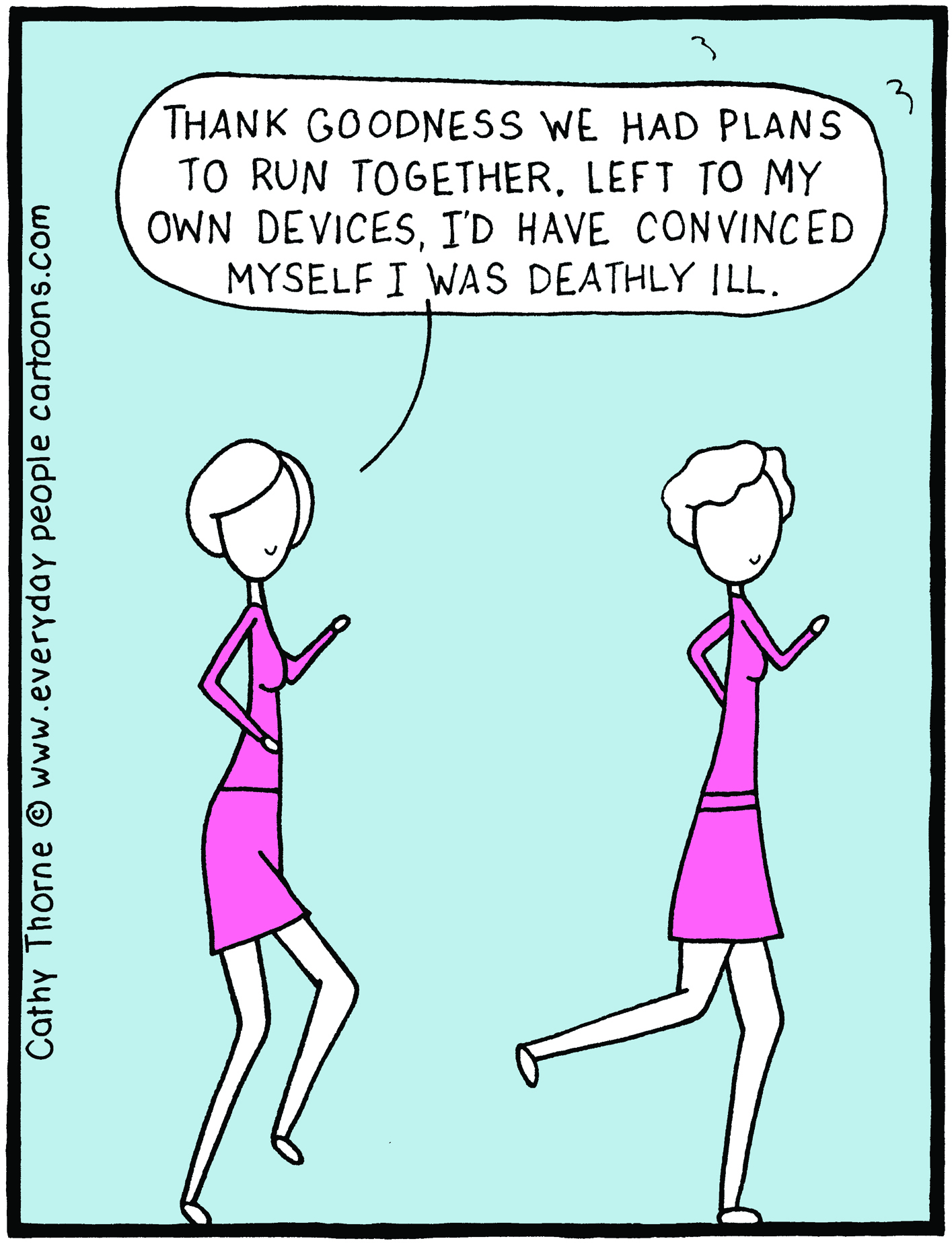 593 - Everyday People Cartoons by Cathy Thorne