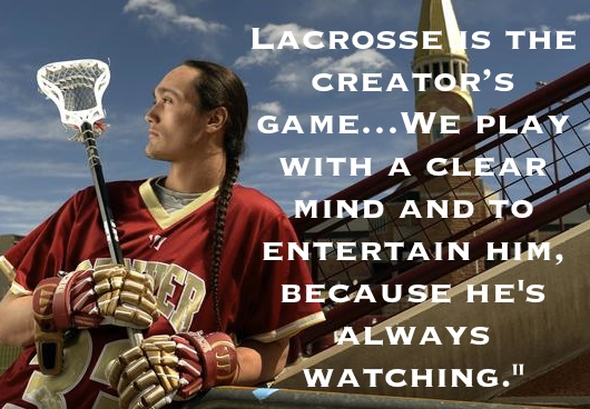 University of Denver freshman lacrosse player Zach Miller is the first native American to come to Bill Tierney's program.