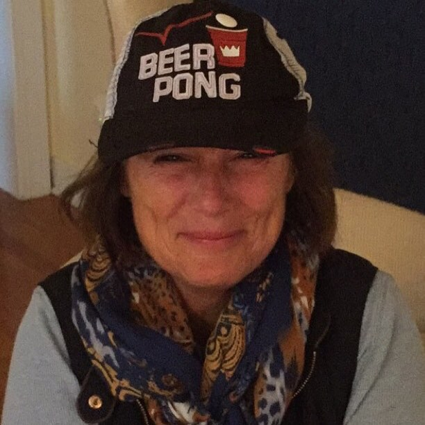 Kids definitely didn't think my headgear was a wise choice for parents weekend. -#embarassingmom