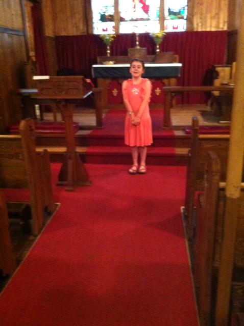 Pippa from Portugal still enjoys reciting The Ten Commandments at Good Sam.