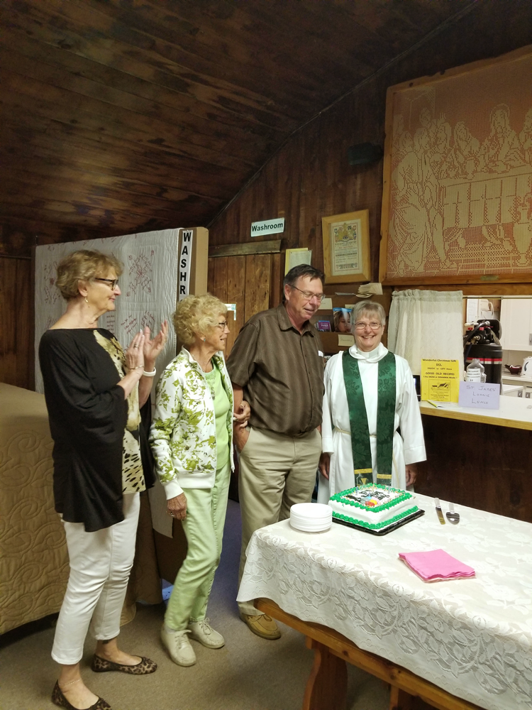 Celebrating September birthdays and anniversaries at St Luke's
