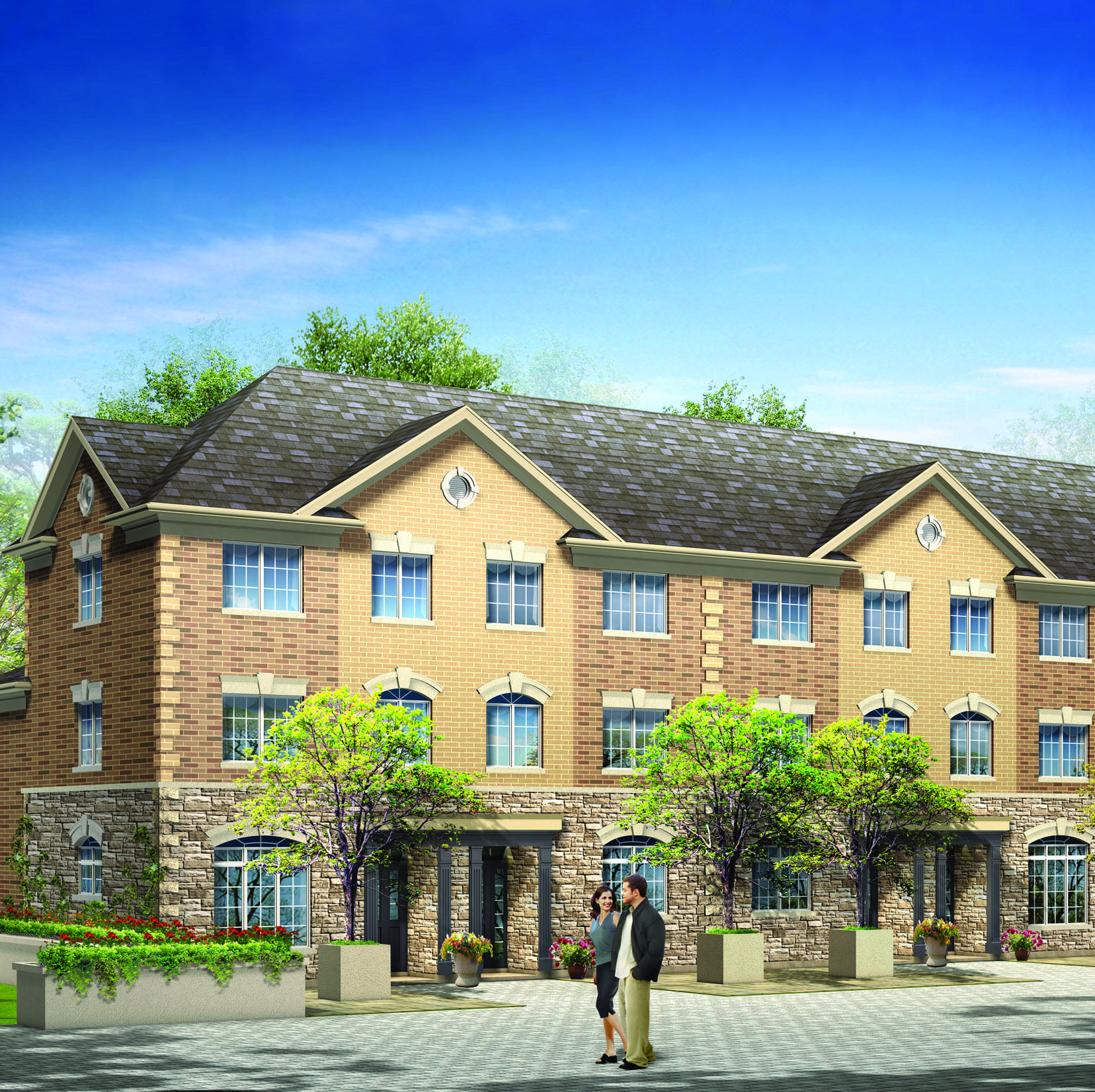 2008: Berkshire Place Town homes and singles - Vaughan, Ontario
