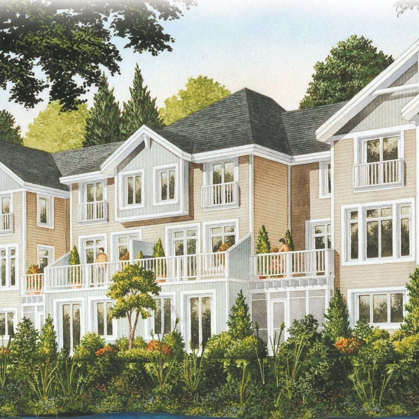 2001: On Bogart Pond Town Homes - Newmarket, Ontario