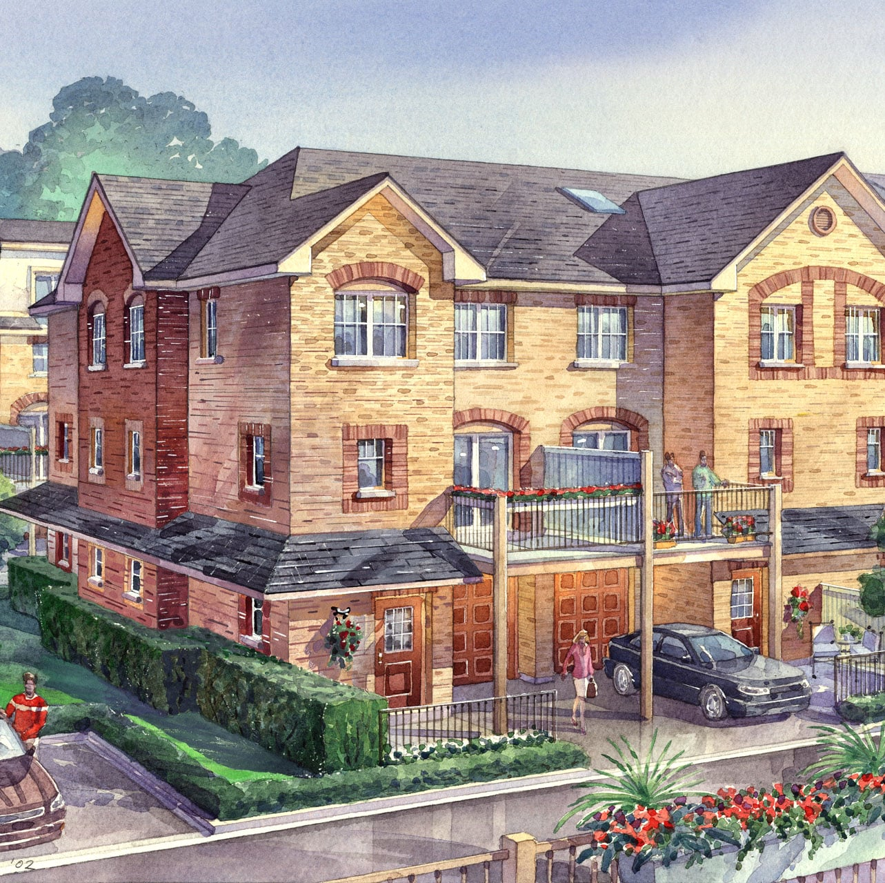 2004: Serenade Townhomes - Pickering, Ontario