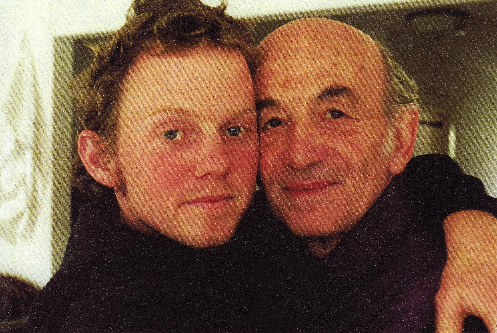 Erik Dekker with Remy  Photo courtesy of author