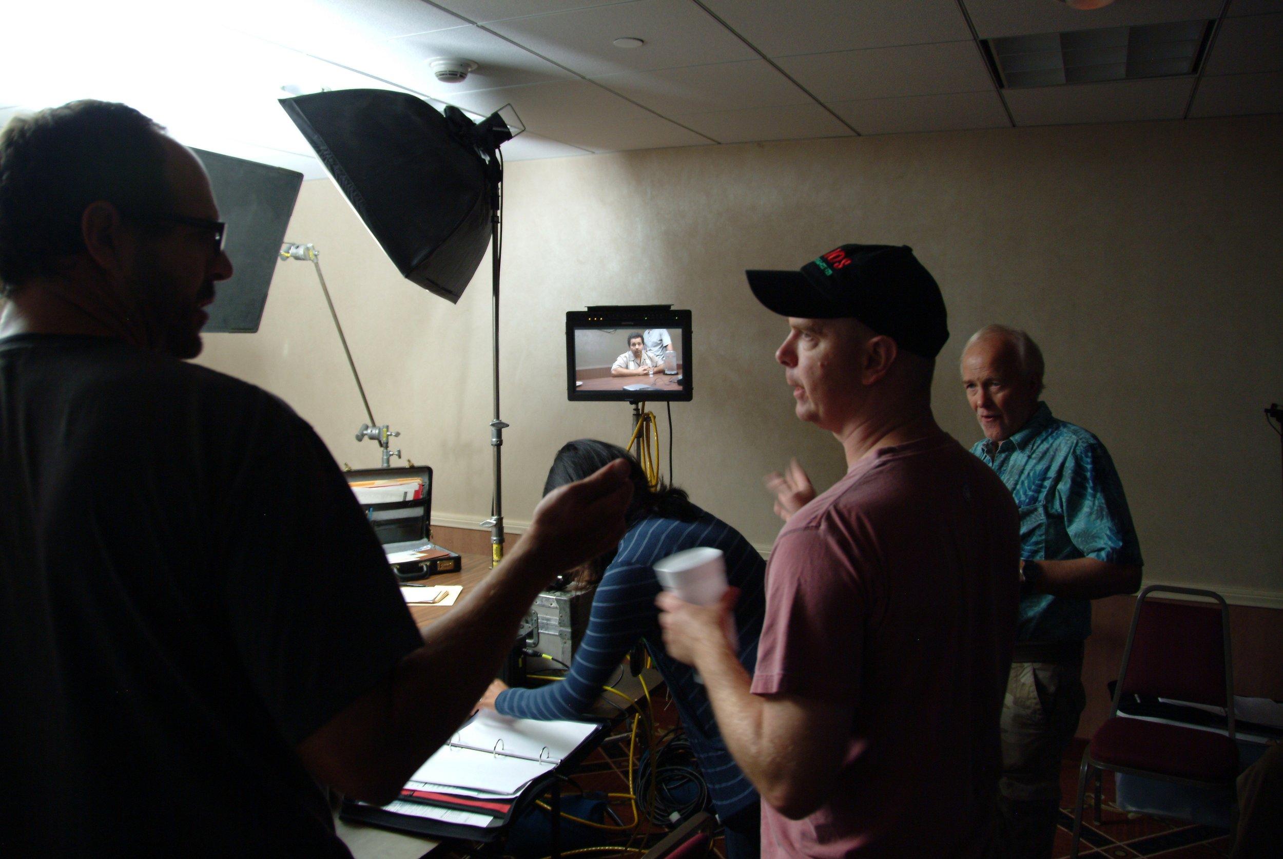 directing Holiday Inn.jpg