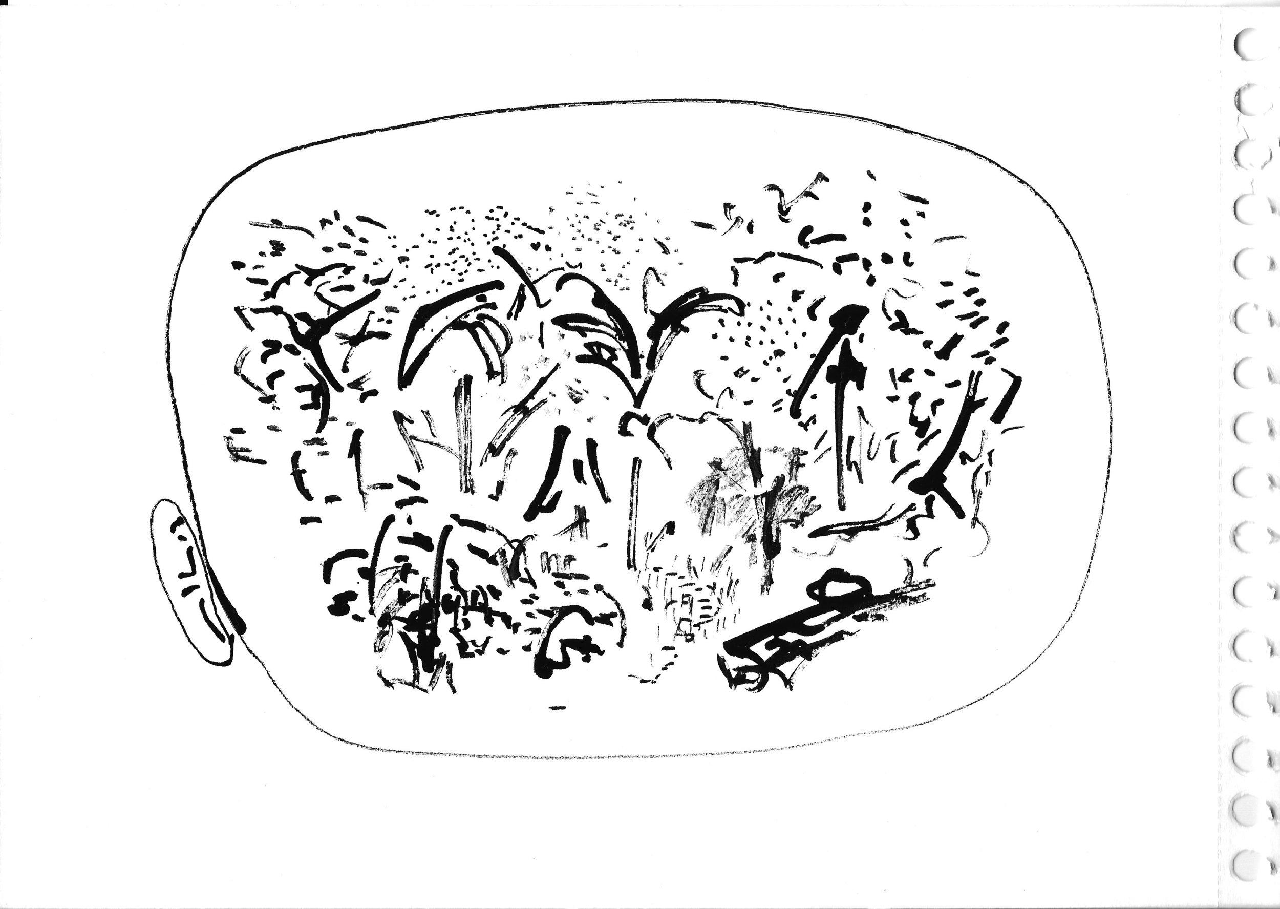 """""""Dans le jardin d'Eden"""", Renaud Gaultier 2017"""