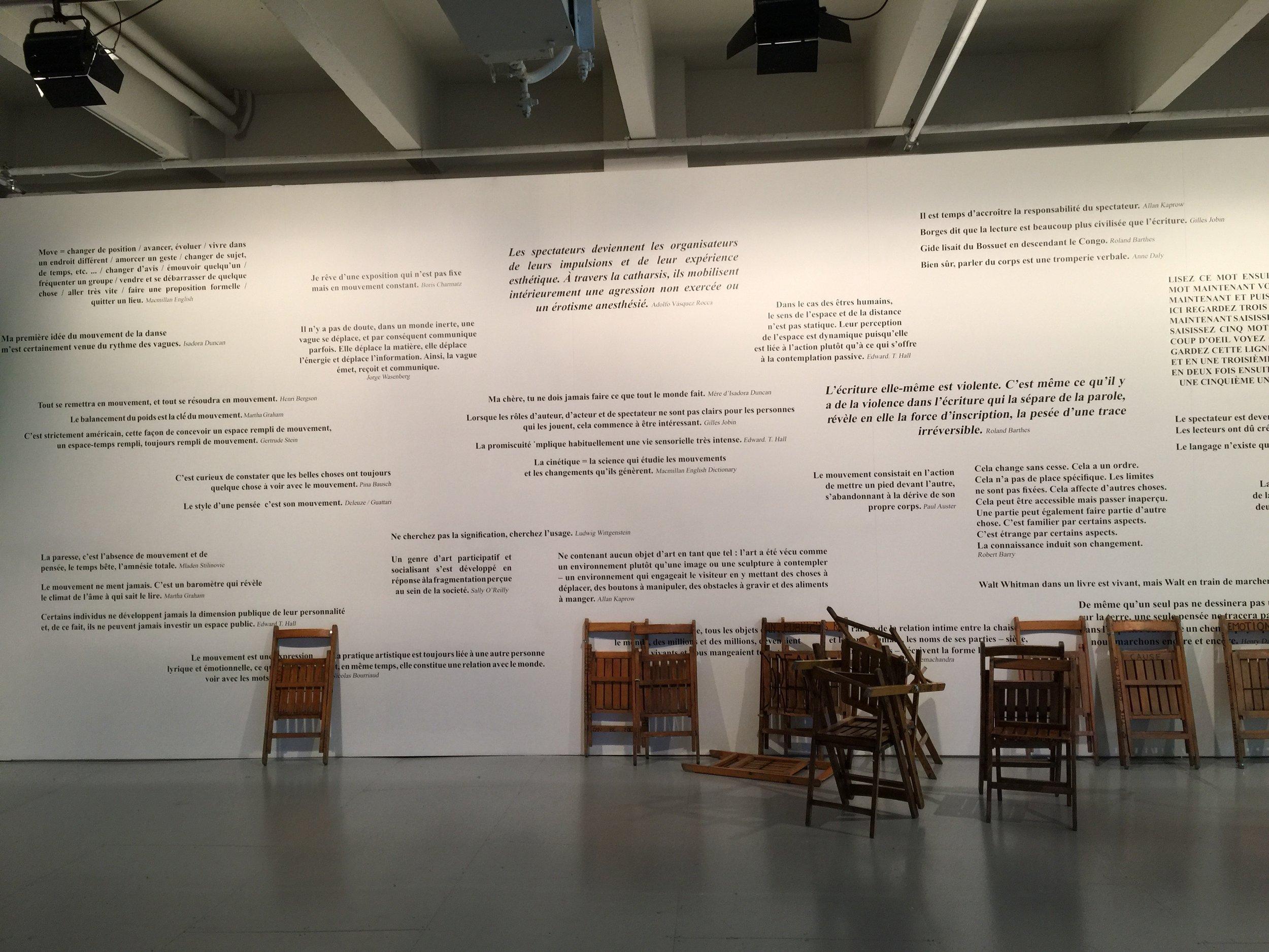 """""""Performance ! Les collections du Centre Pompidou, 1967 - 2017"""", TRIPOSTAL, Lille 2017"""