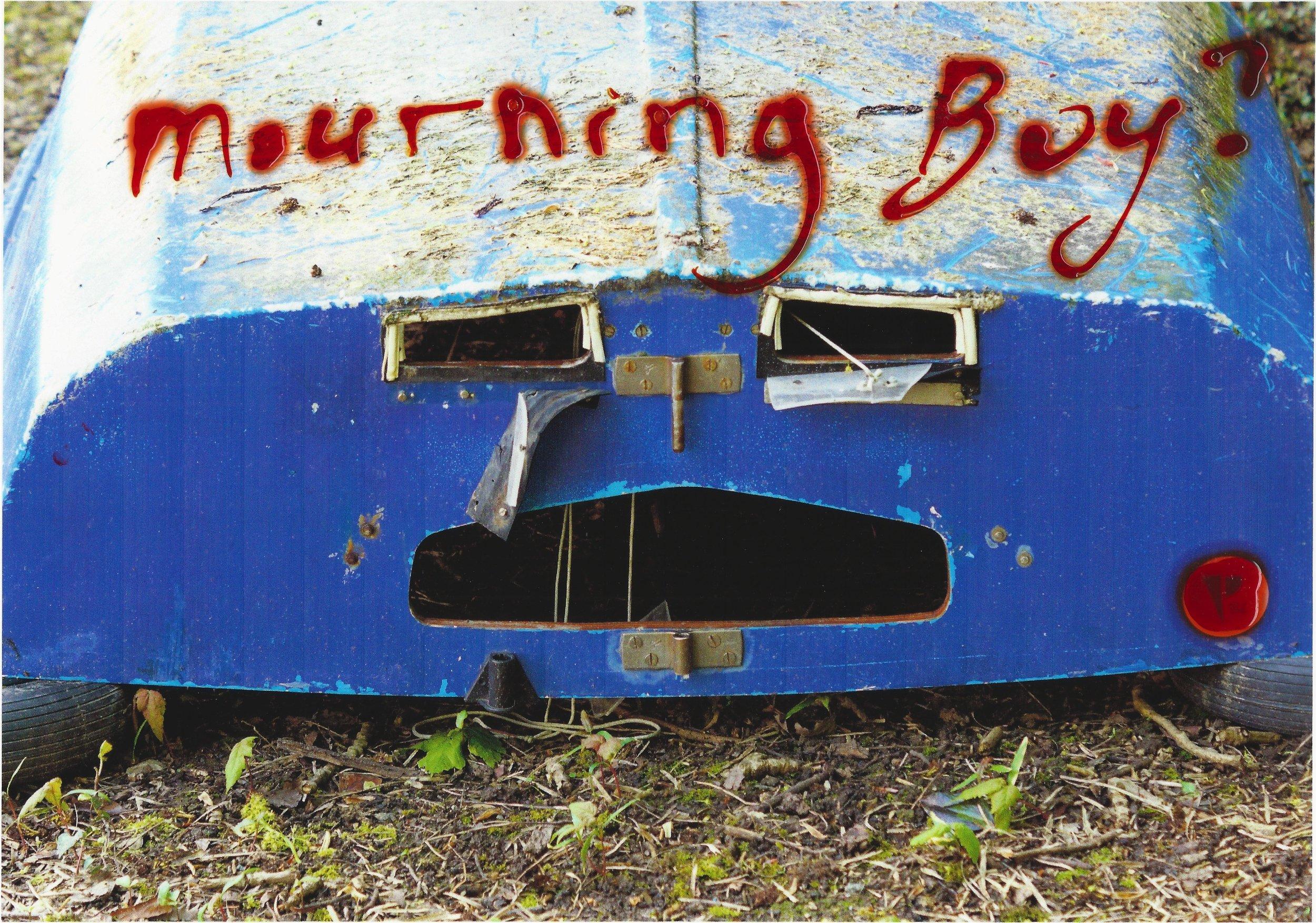 """Mourning Boy ?"", Renaud Gaultier 2018."