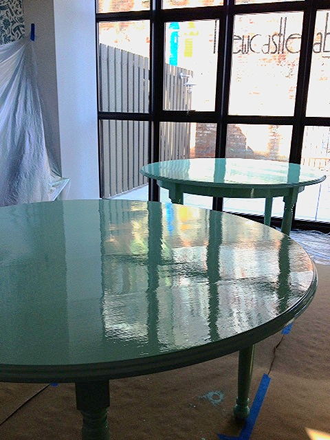 DUTCH LACQUERED TABLE