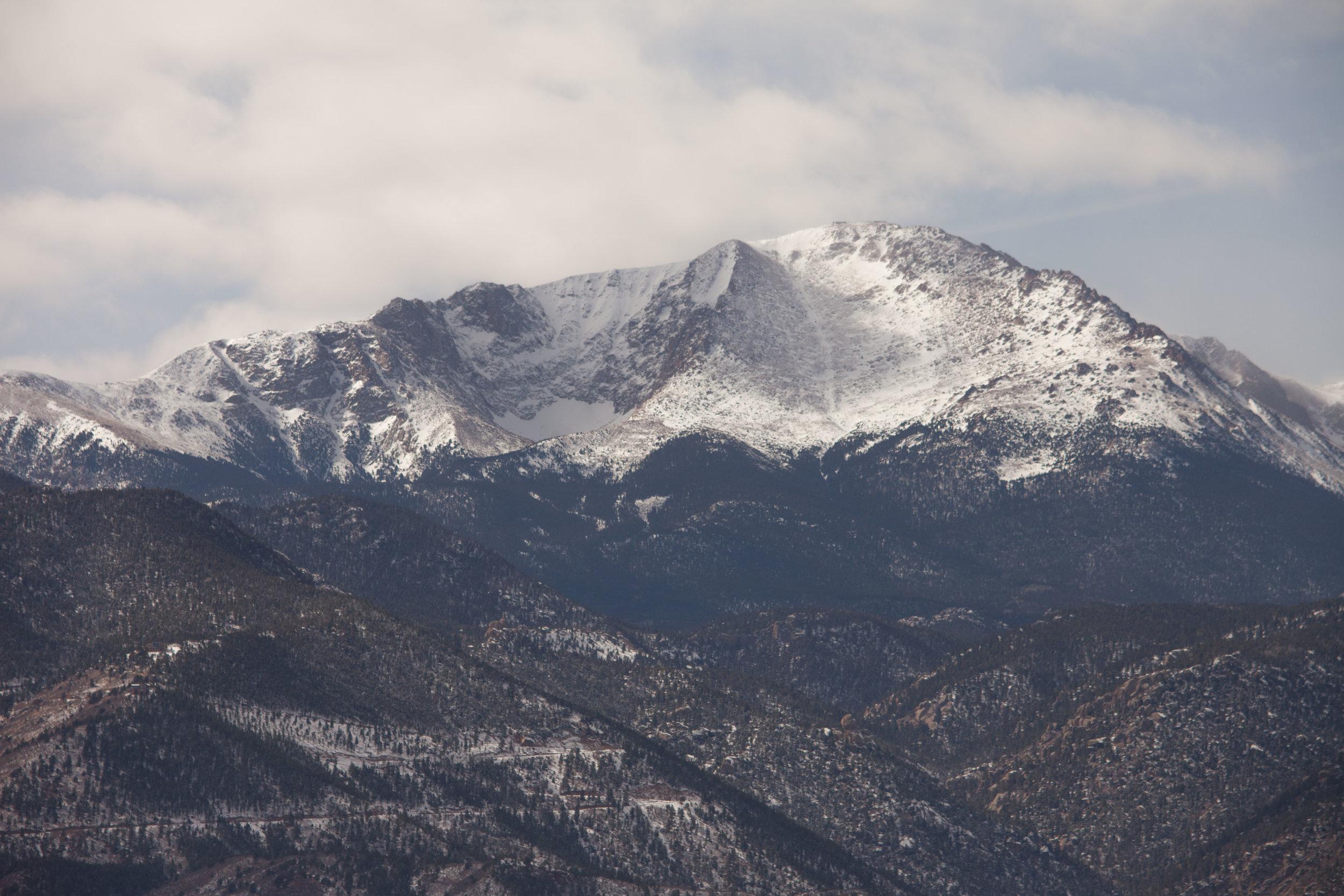 Goodbye Pike's Peak!