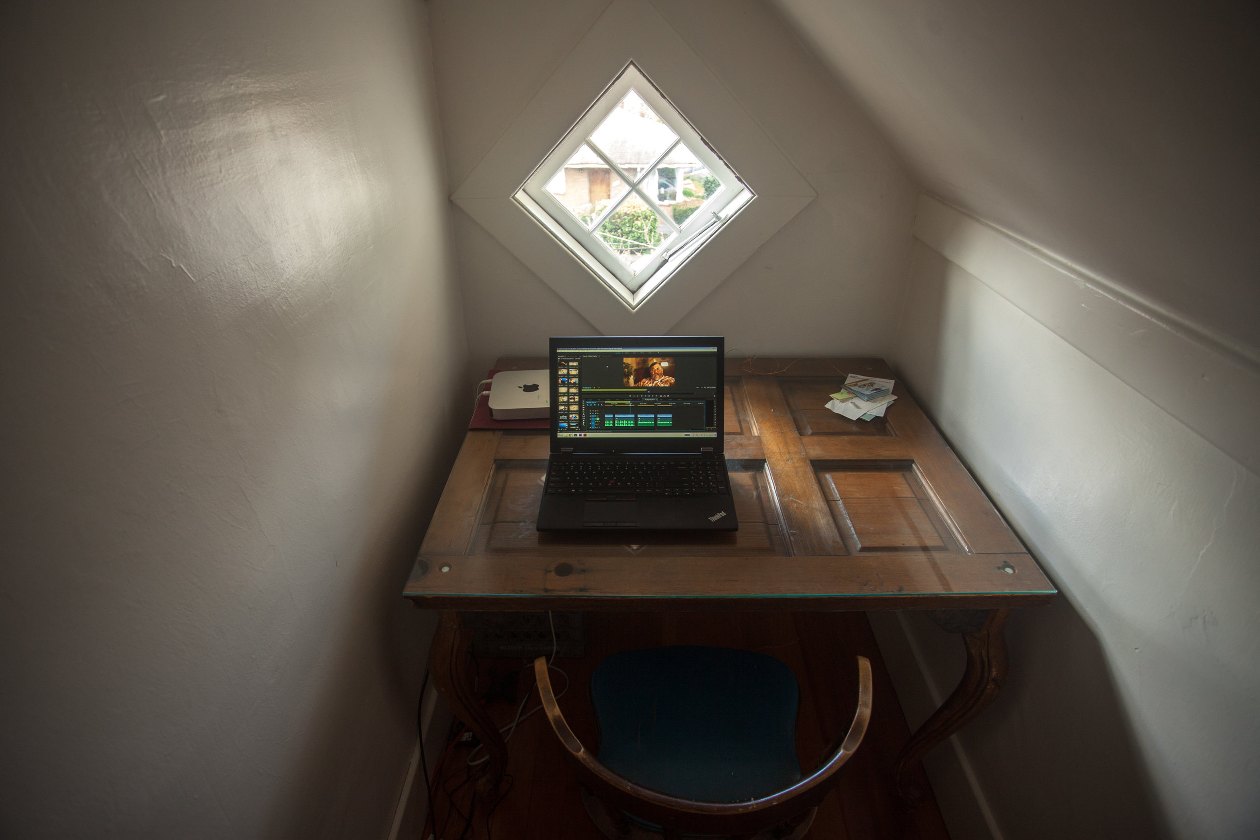 The perfect editing nook