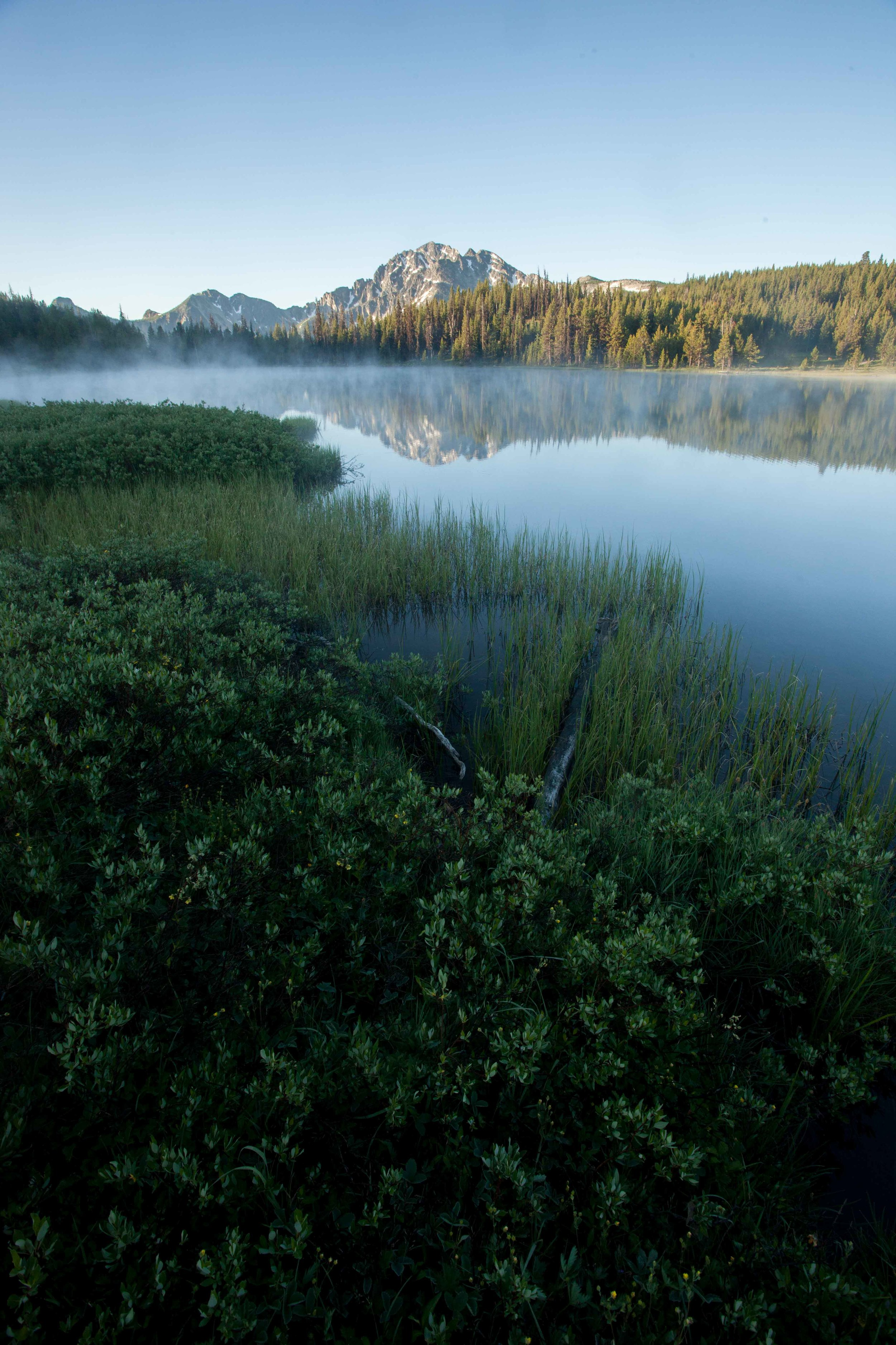 Remmel Lake is worth visiting - and I want to climb Remmel Mountain next time I'm in the area