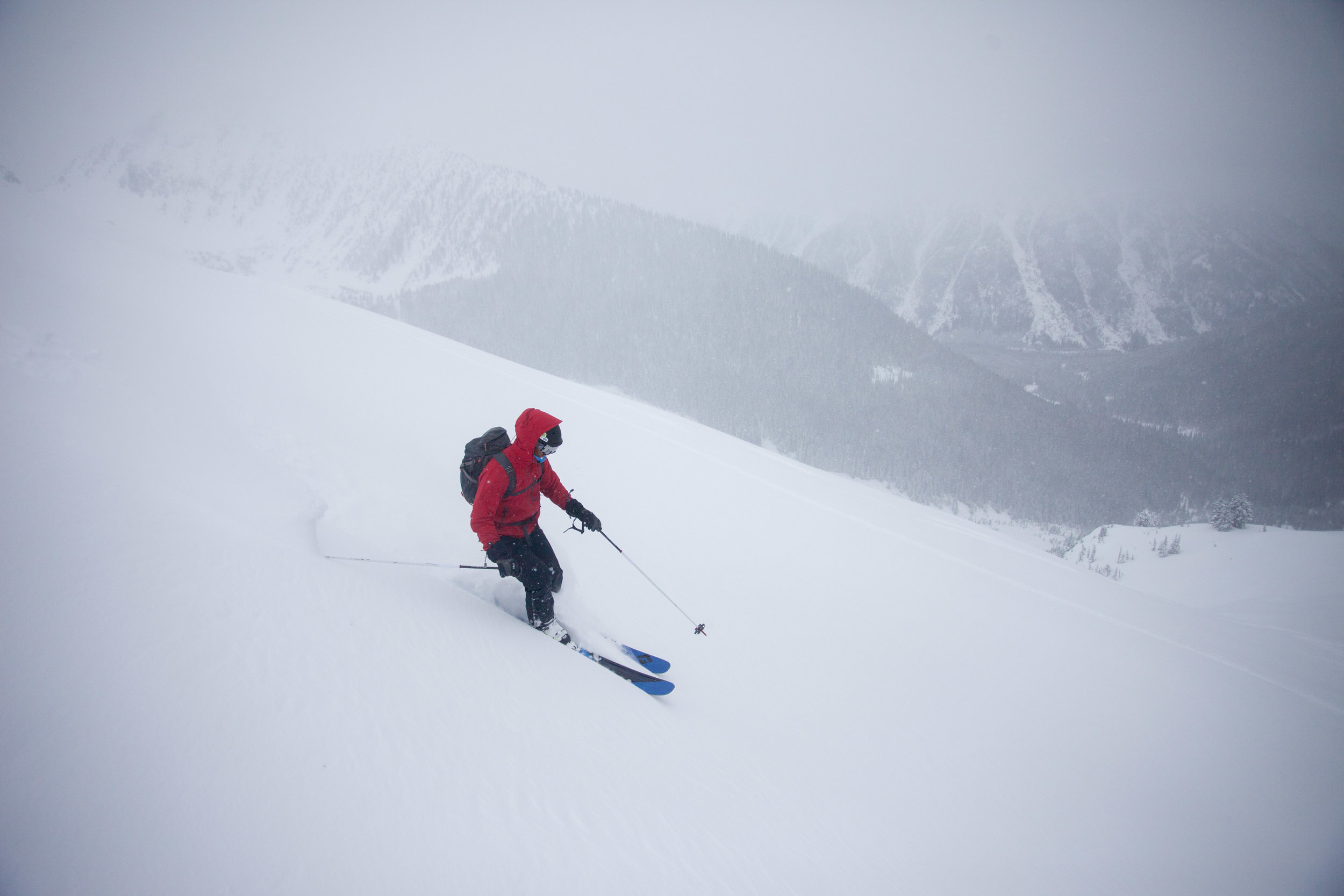 Marc on top of Joffre Arm