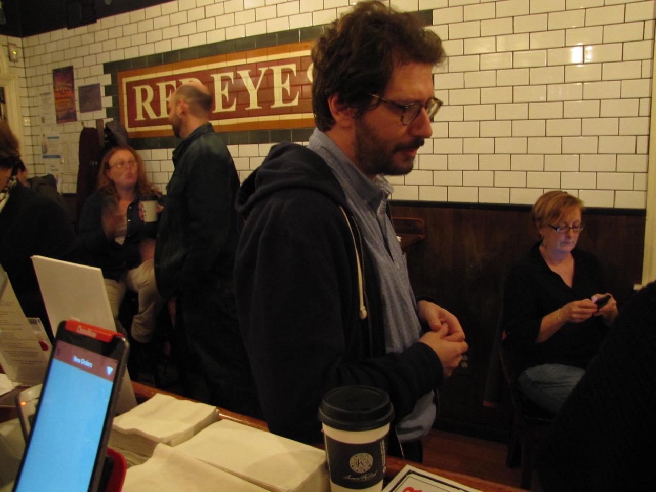 Boris Tsessarsky, March reader