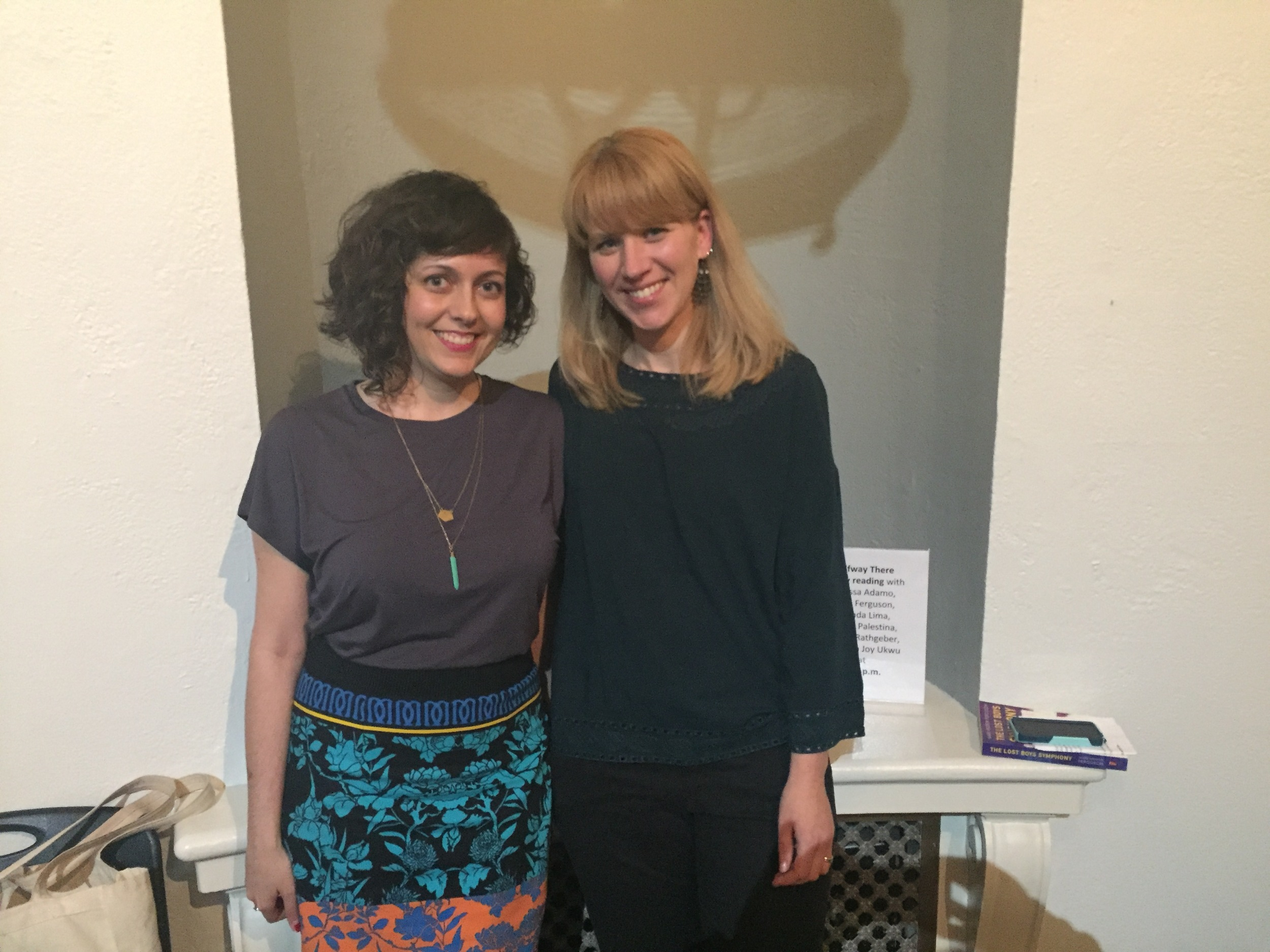 Nicole and Apryl, co-curators