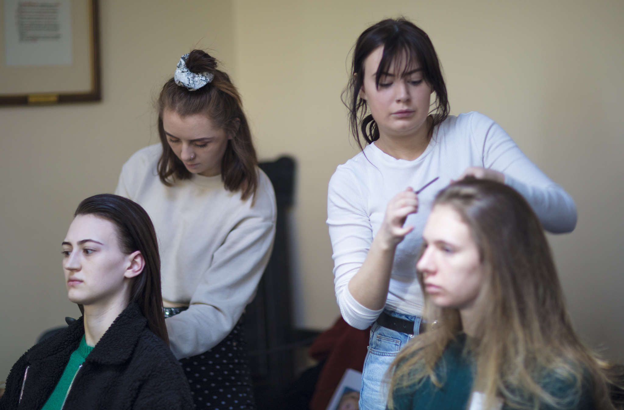 BTS hair stylists Aberdeen Fashion Show 2019.JPG