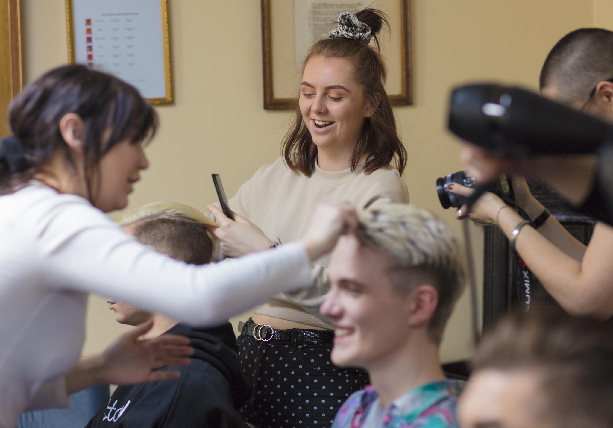 BTS hair stylists Aberdeen Fashion Show 2019_1.JPG