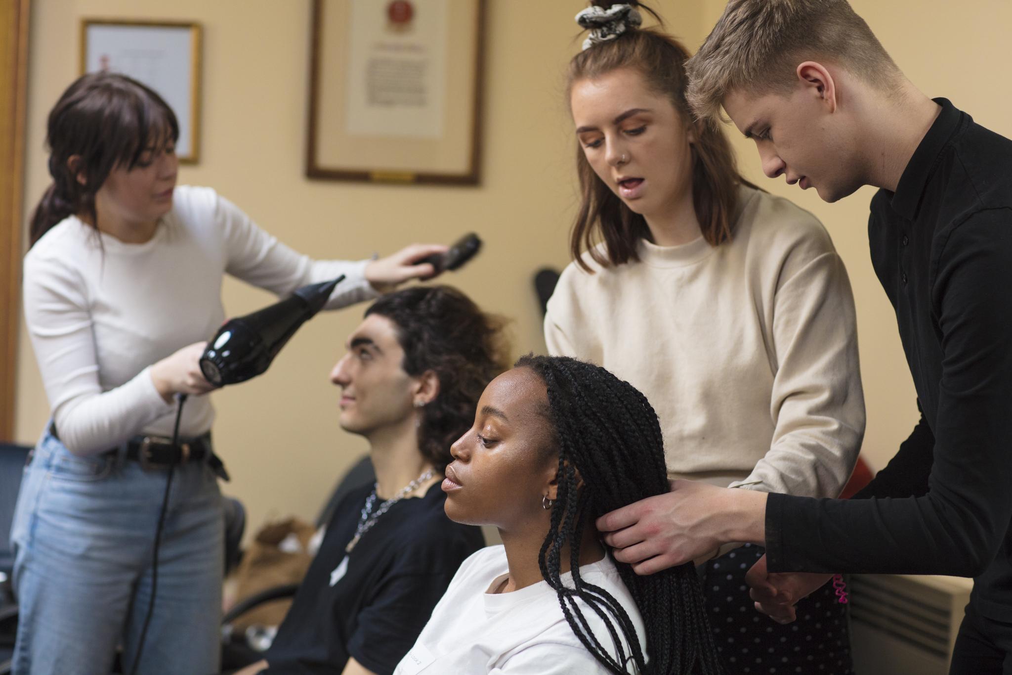 BTS hair stylists Aberdeen Fashion Show 2019_4.JPG