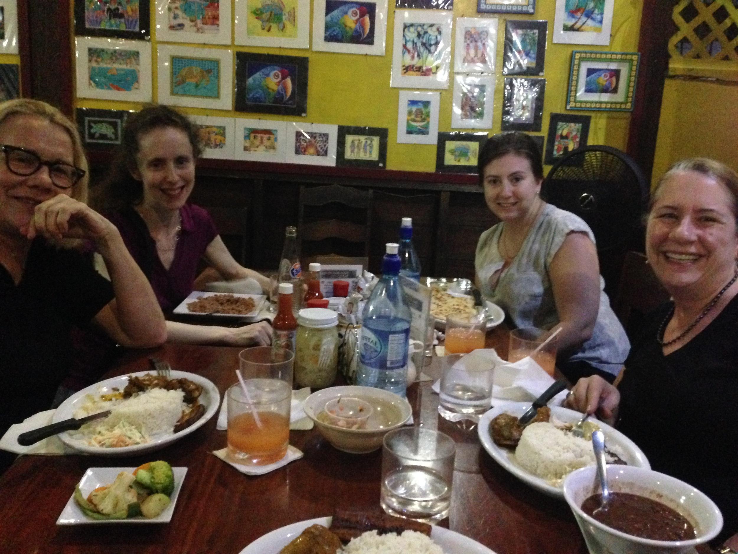 Dinner at Han Nah's in San Ignacio