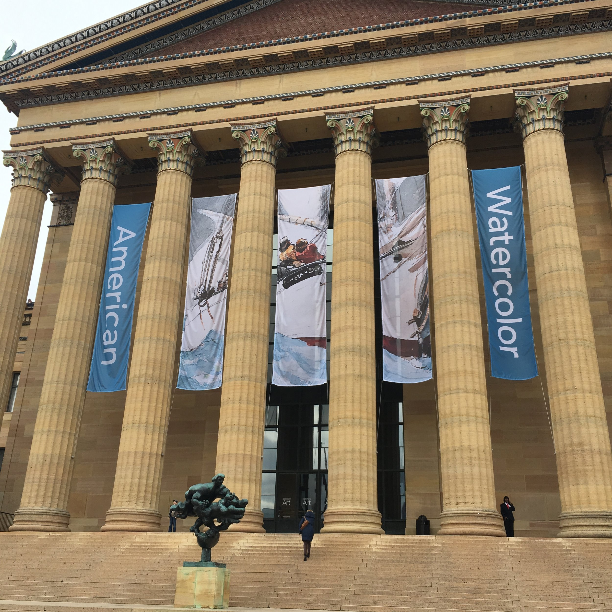 We climbed the Rocky steps and took in a bunch of history and culture at Philly museums.