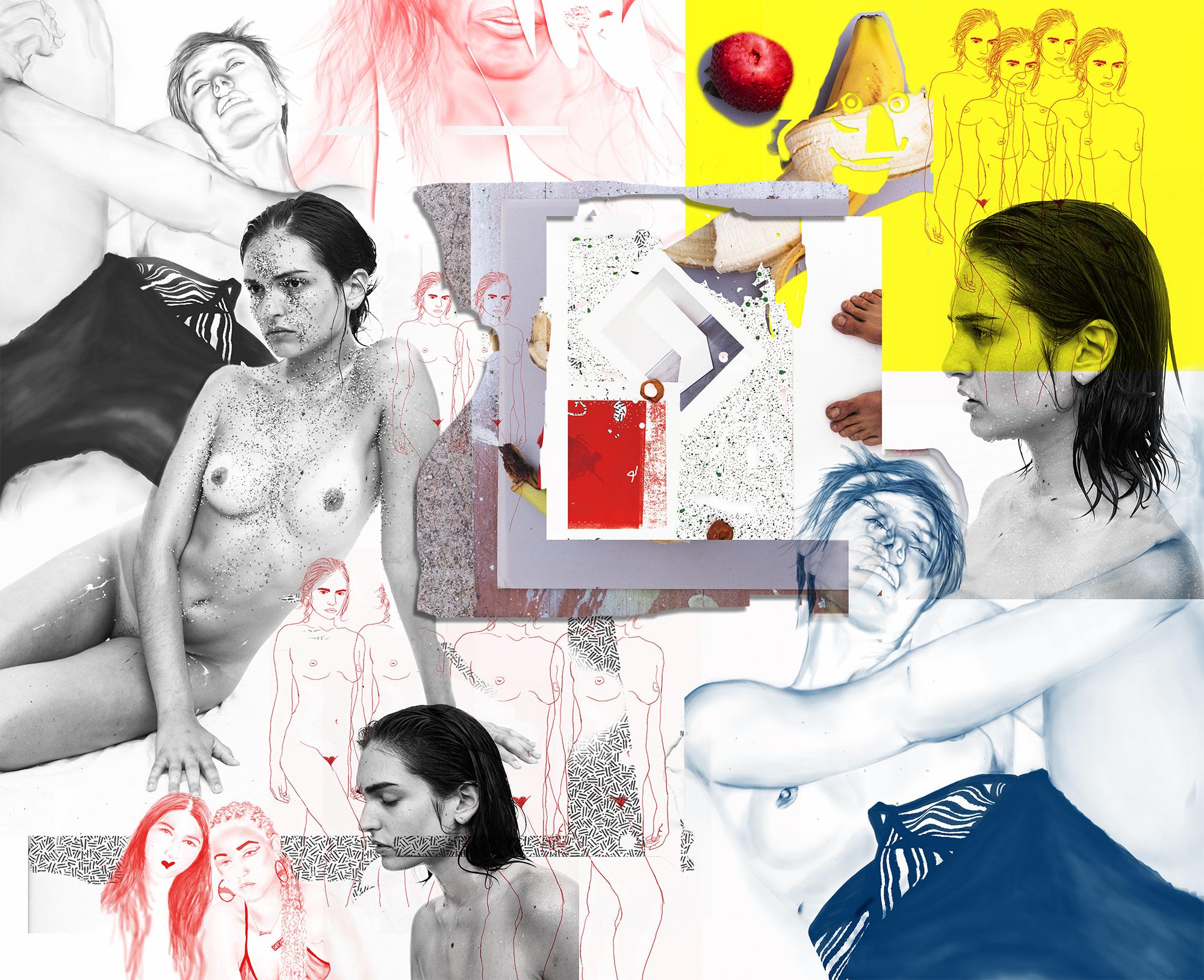 Frances, Natacha, Niki, Candy, John  Archival pigment print  Ed. 1/1 + 2 AP  177 x 145 cm  2016