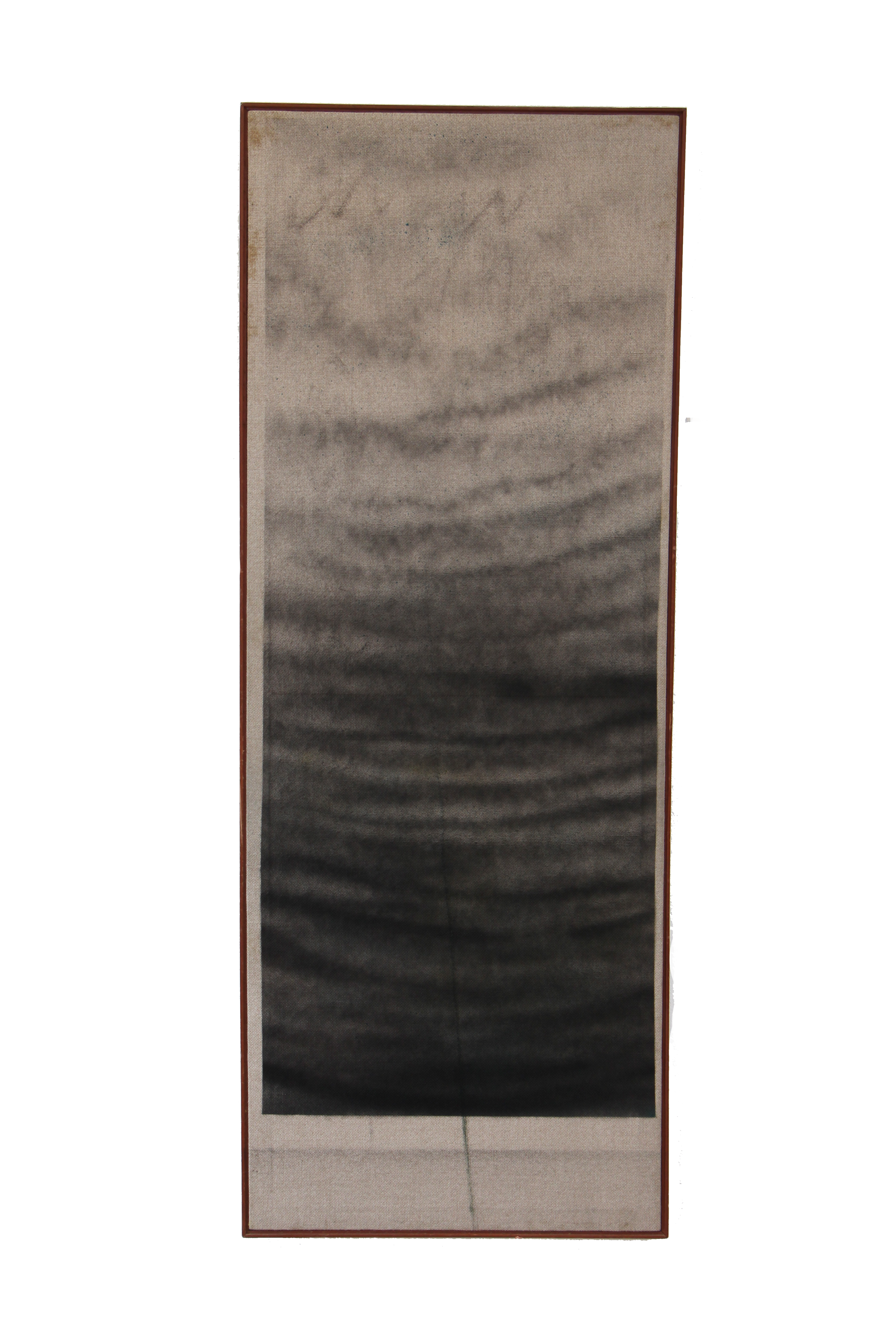 SIN TÍTULO  Técnica: Óleo y spray sobre tablero de tela  Medida: 163 x 62 cm  Año: 2015