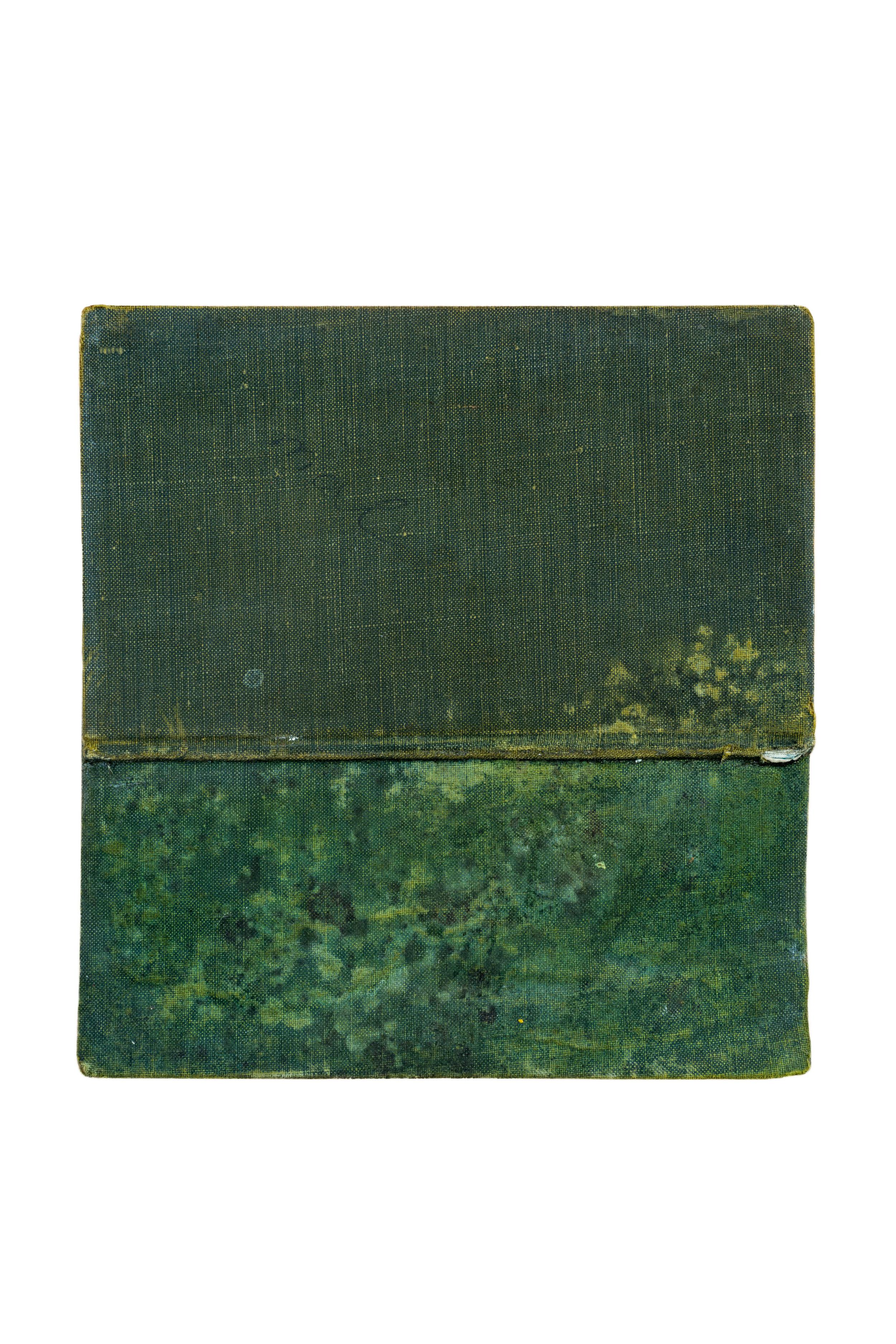 VV  Técnica: Mixta sobre carátula de libro  Medida:16 x 15 cm  Año: 2015