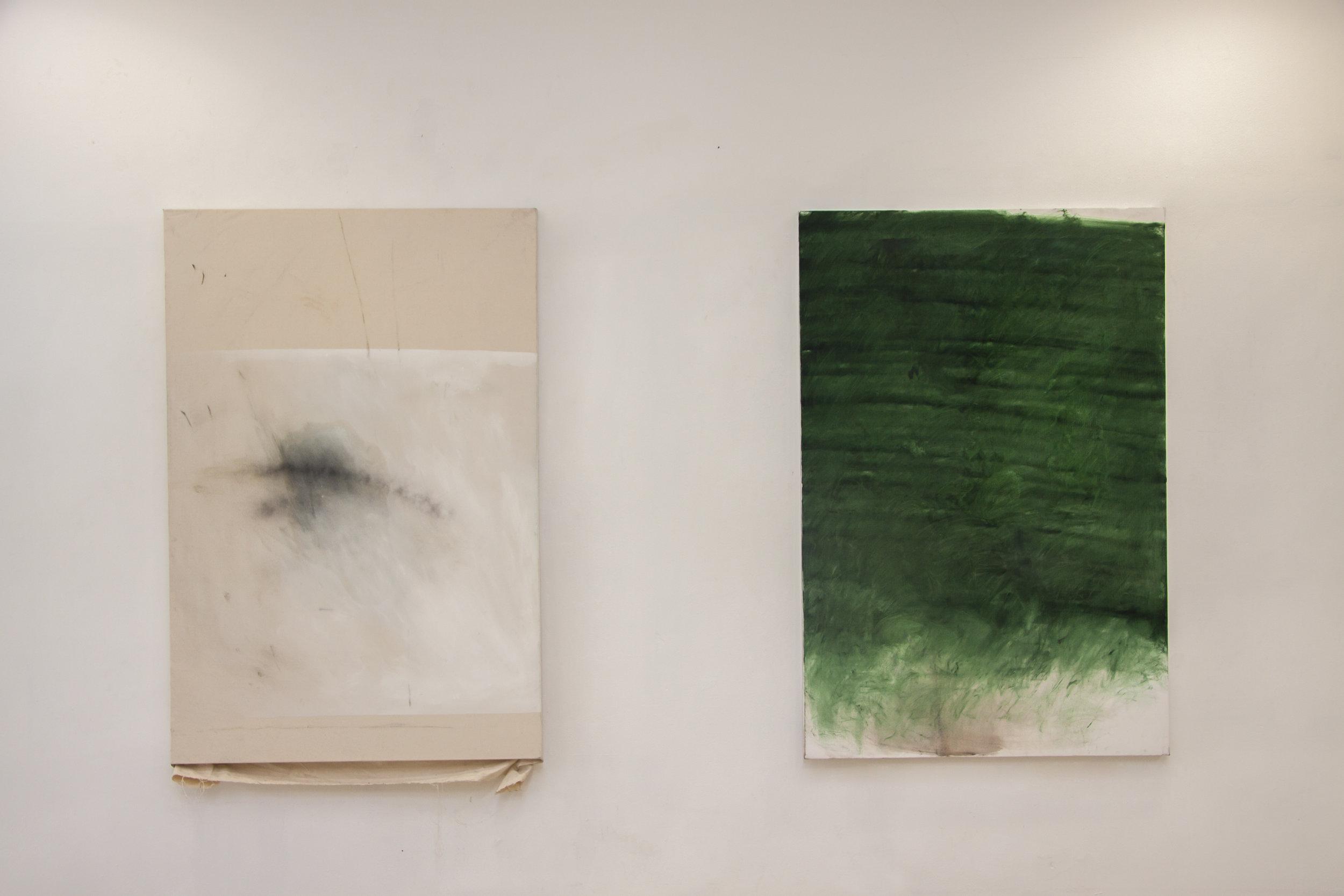 SIN TÍTULO  Técnica: Mixta sobre tela  Medida: 150 x 100 cm  Año: 2015