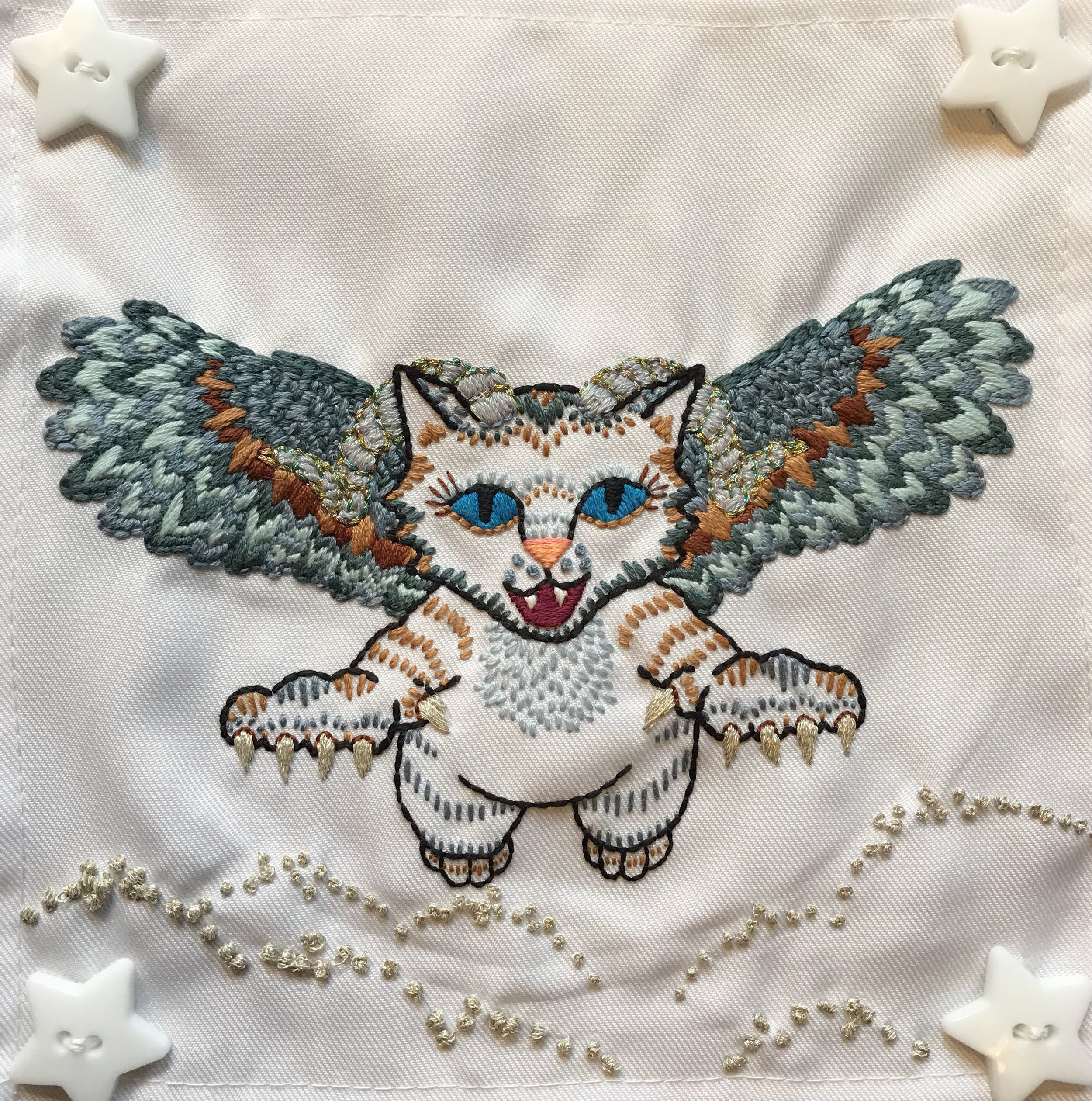 Owl Winged Ram Kitten - 2017