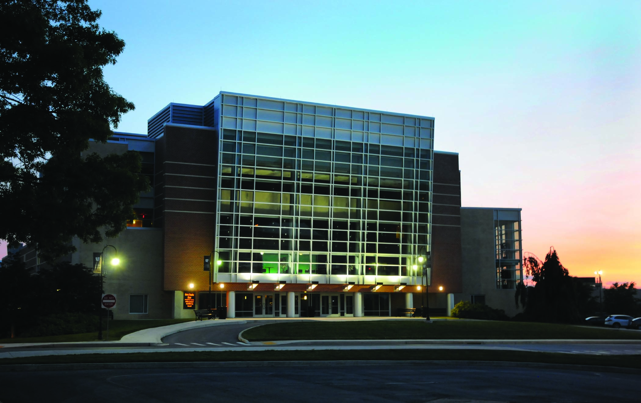 The Luhrs Performing Arts Center at Shippensburg University.