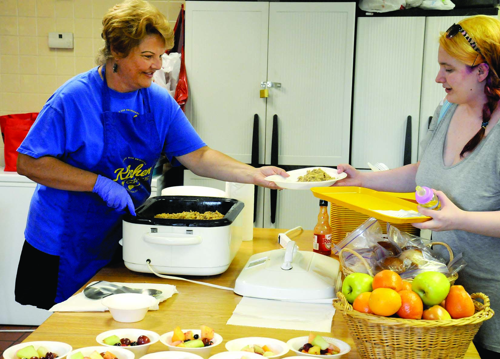 Shippensburg's First Church of God offers a free dinner to community members every Friday night.
