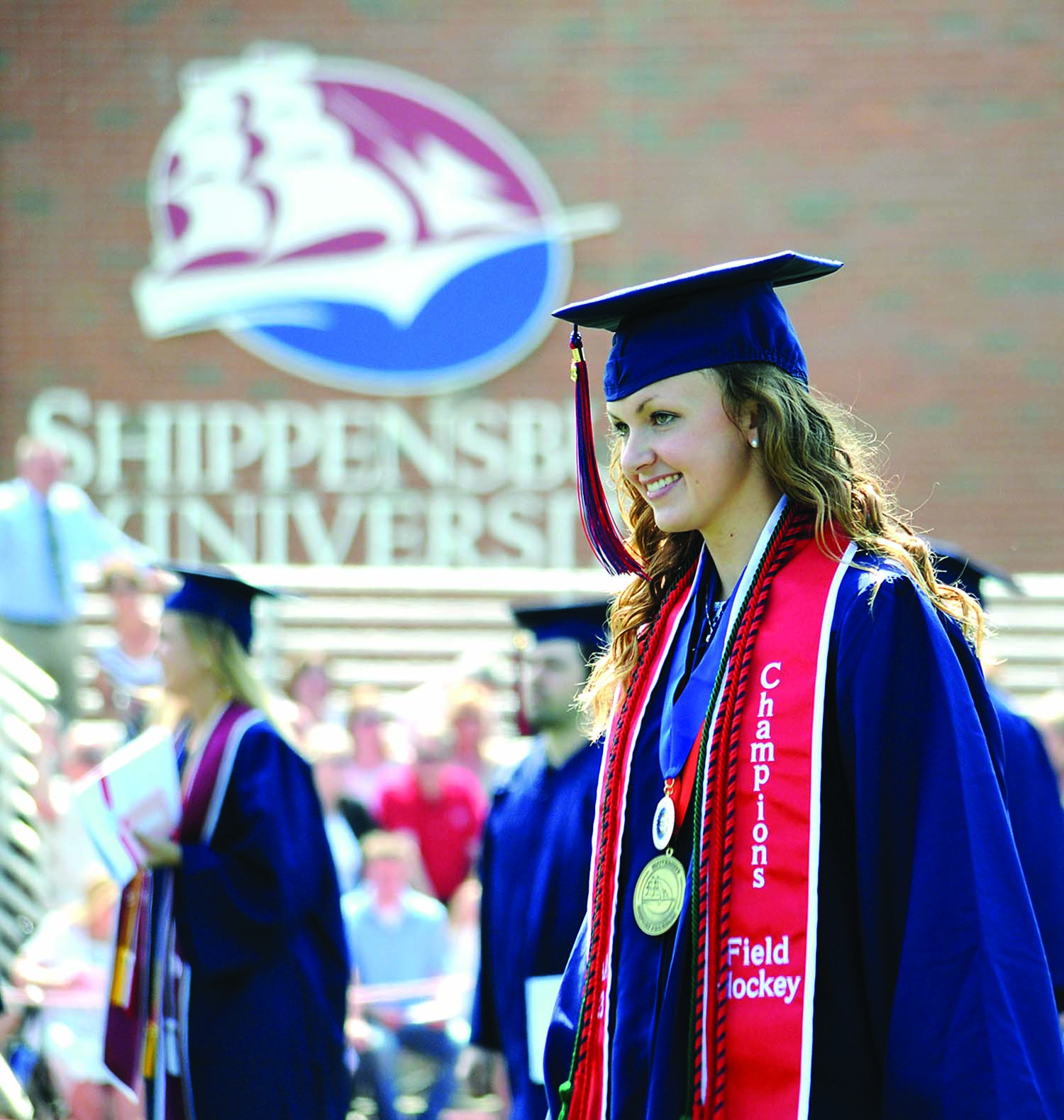 Lucy Kauffman '14 was accepted into the Doctor of Optometry program at Salus University.
