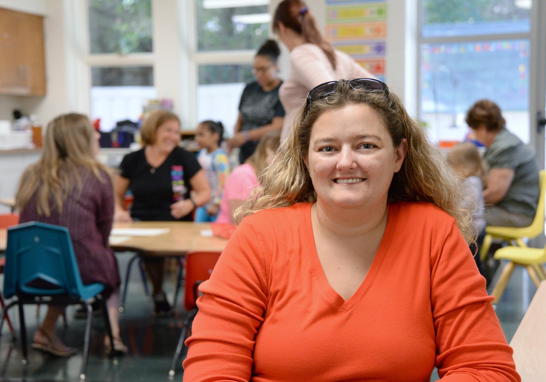 Beth Hornbaker '16M is an MSW intern at Shippensburg Head Start.