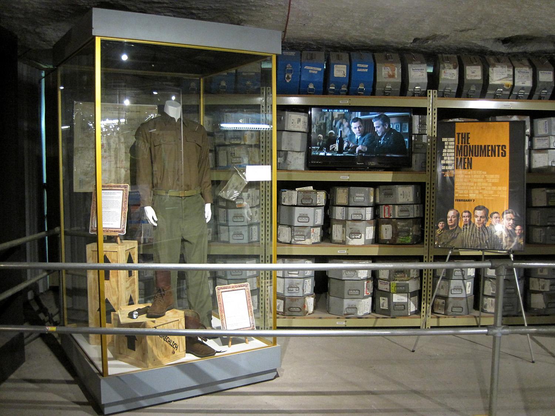 An underground exhibit at Strataca: Kansas Underground Salt Museum.