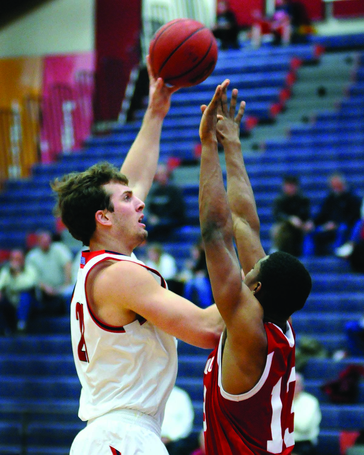 Dylan Edgar '15 will play for the Niagara River Lions of the National Basketball League of Canada.