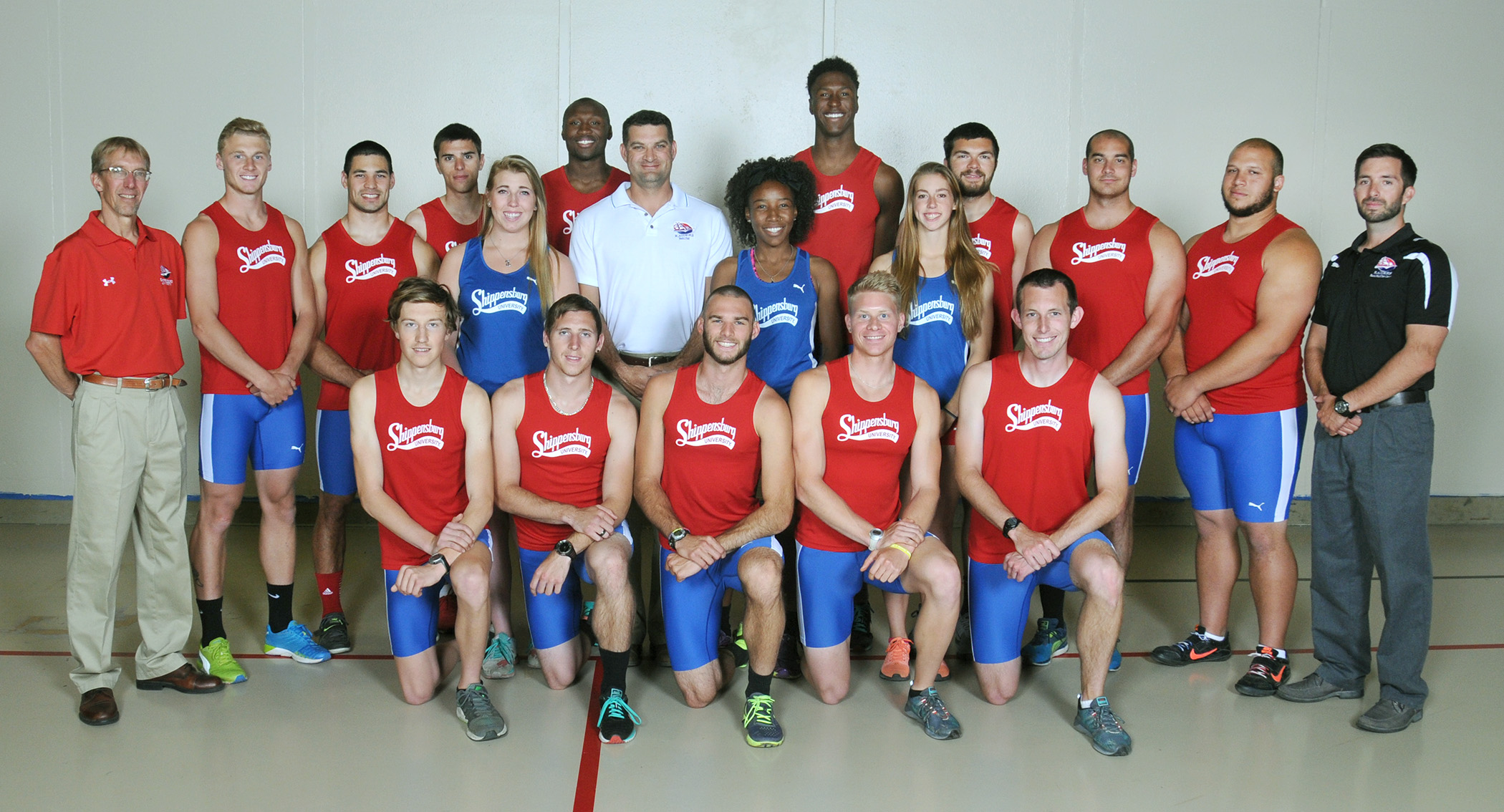 Ship track and field sent 16 individuals (13 men, three women) to the 2015 NCAA Division II Outdoor Track and Field Championships hosted by Grand Valley State University in Allendale, Michigan. Ten of SU's 15 entries earned All-America honors.