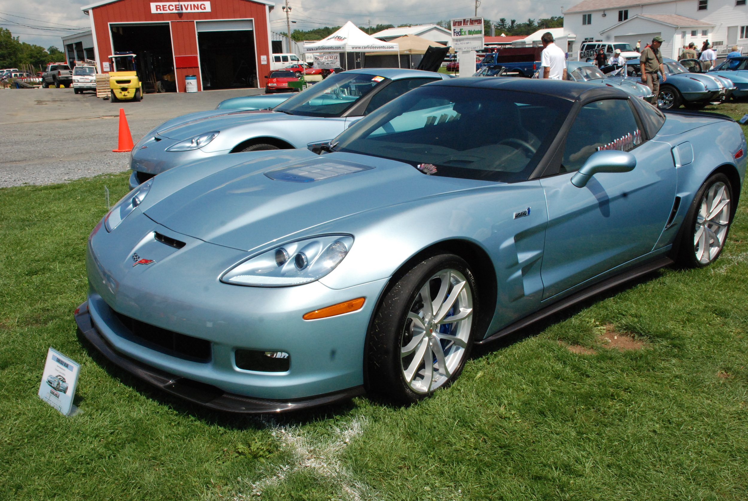 The Carlisle Events Corvette show is so popular that Corvette honored Carlisle Events with its own color—Carlisle Blue.