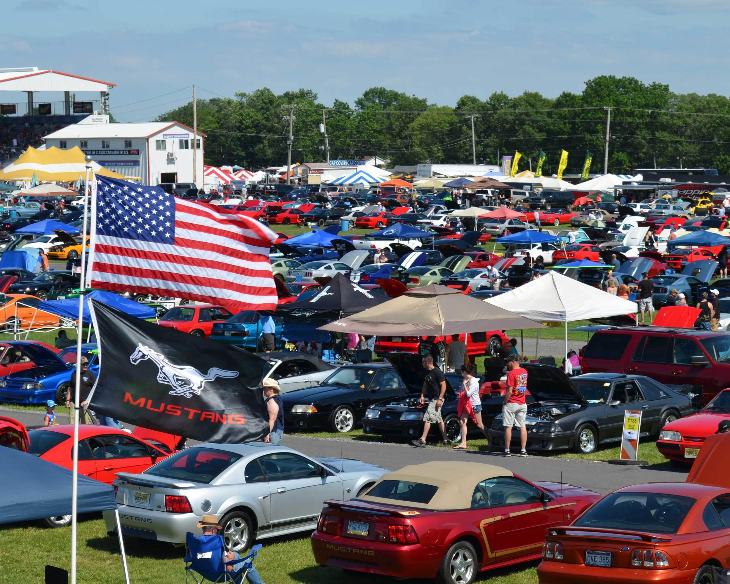 Ford Nationals at Carlisle Events.