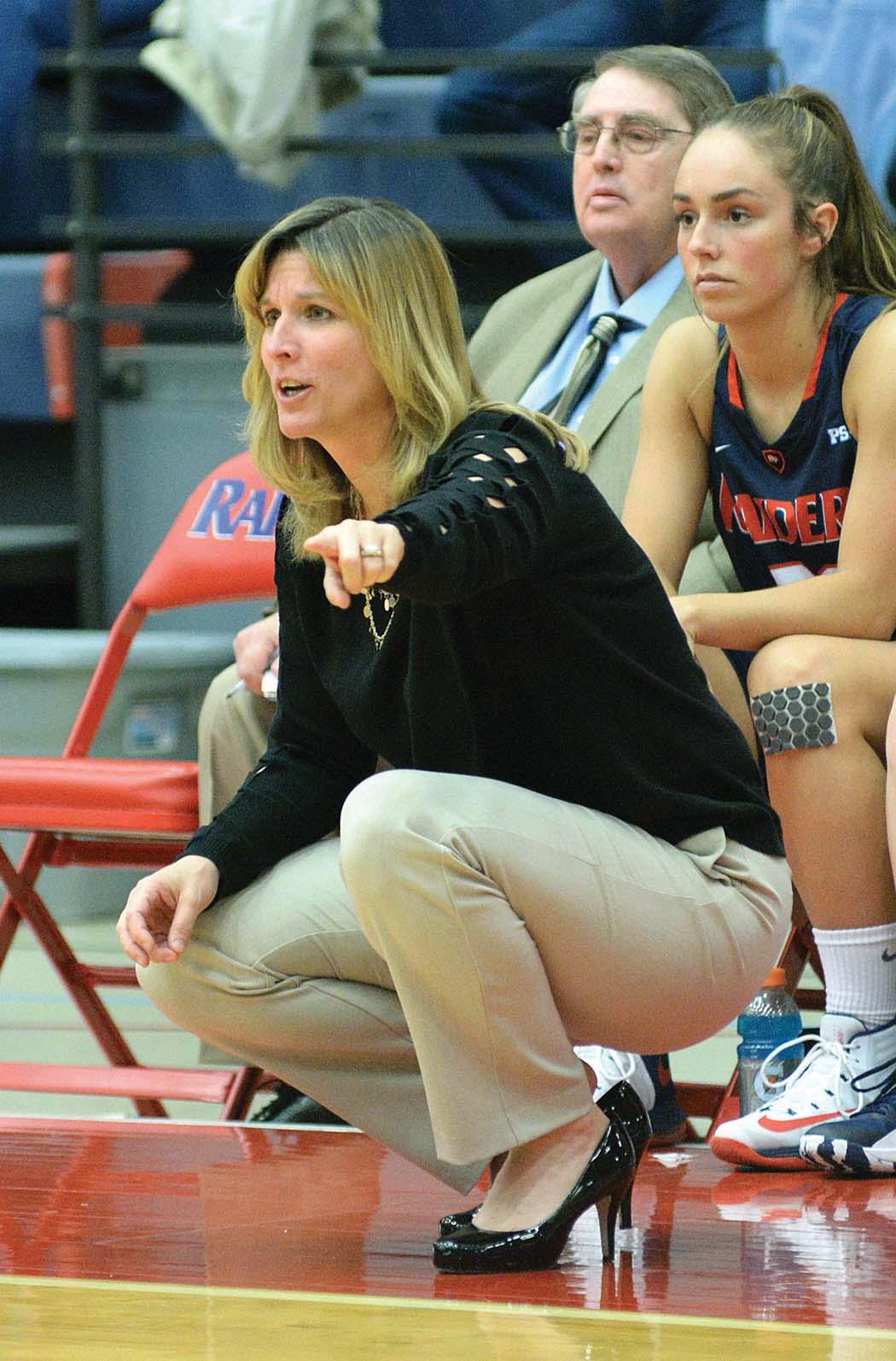 Head Coach Kristy Trn