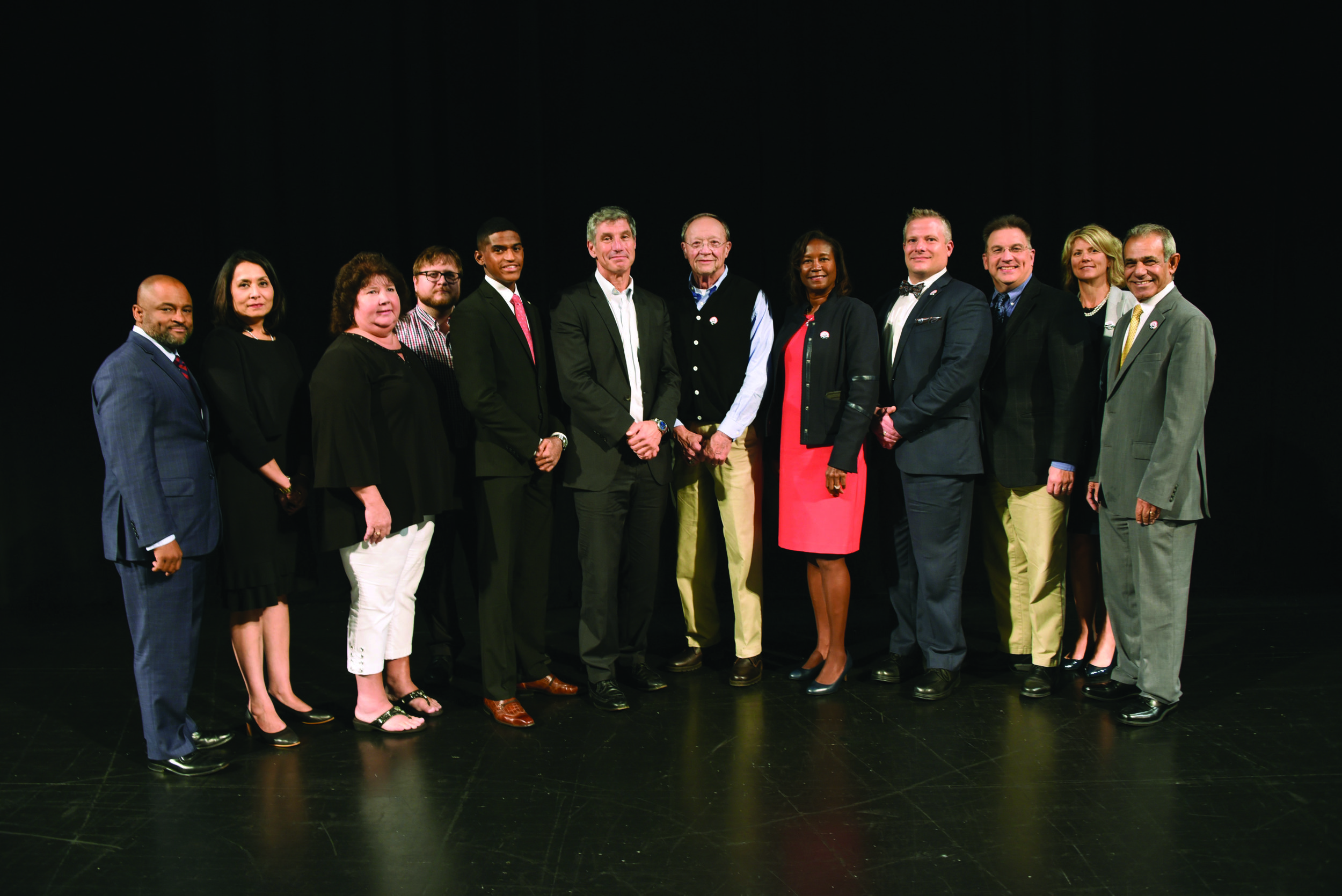 When State System Chancellor Dan Greenstein visited Shippensburg, Stephen Washington had the opportunity to meet him. As the new student trustee, Washington looks forward to being a liaison between campus and administration.