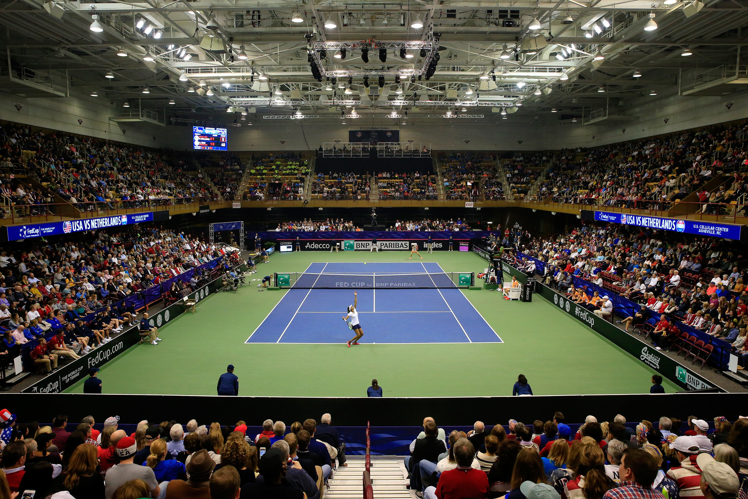 Asheville Fed Cup Arena View.jpg