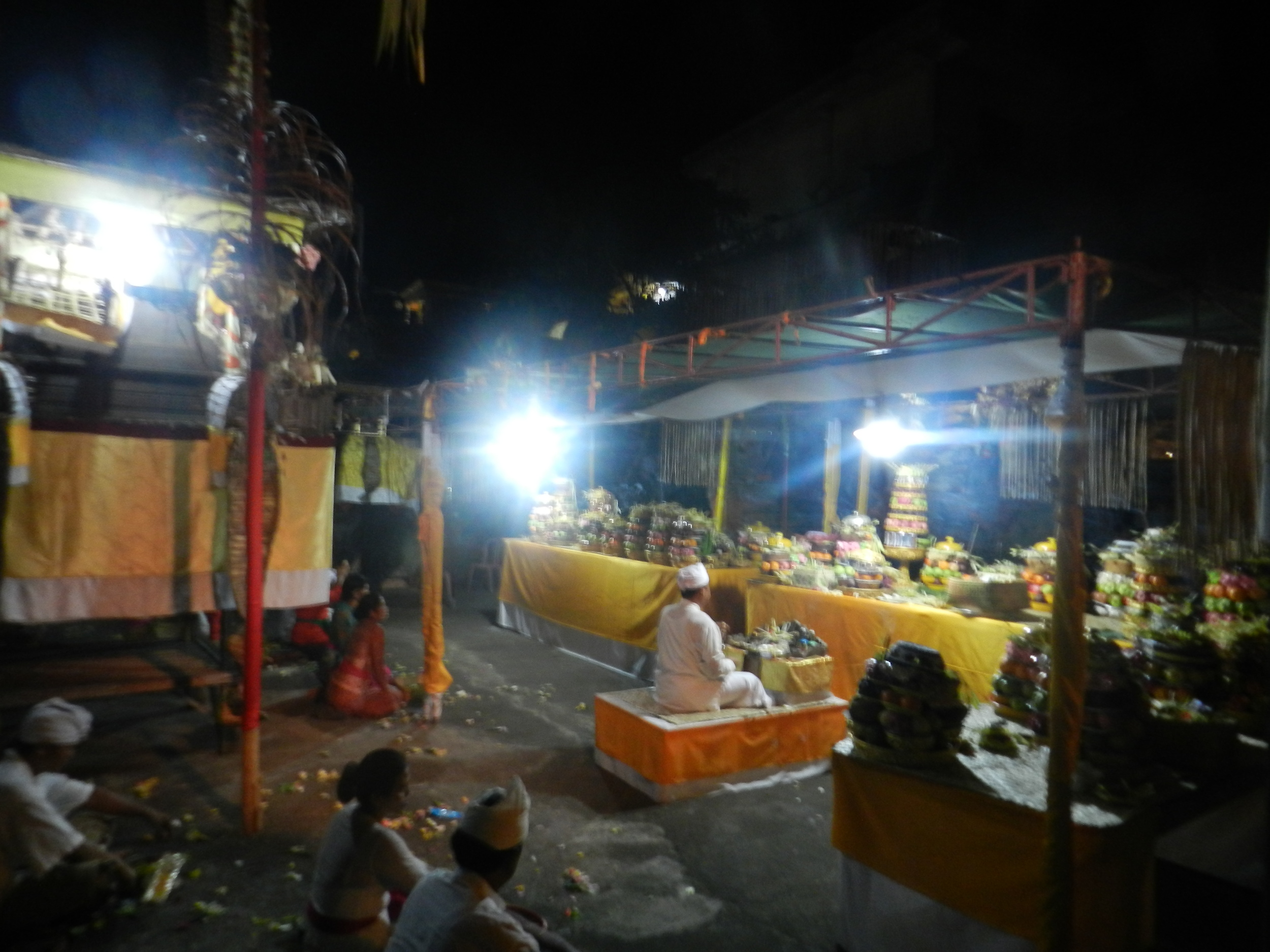traditional prayer ceremony