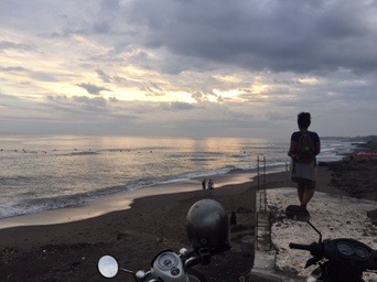 This is real life in Canggu