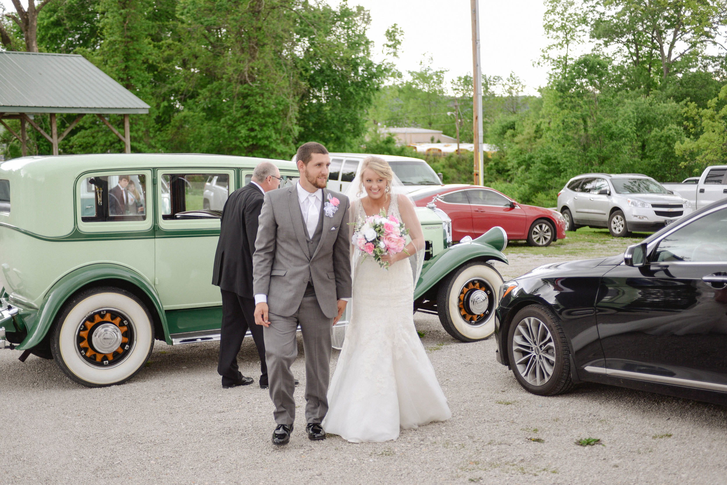 Classic cars weddings