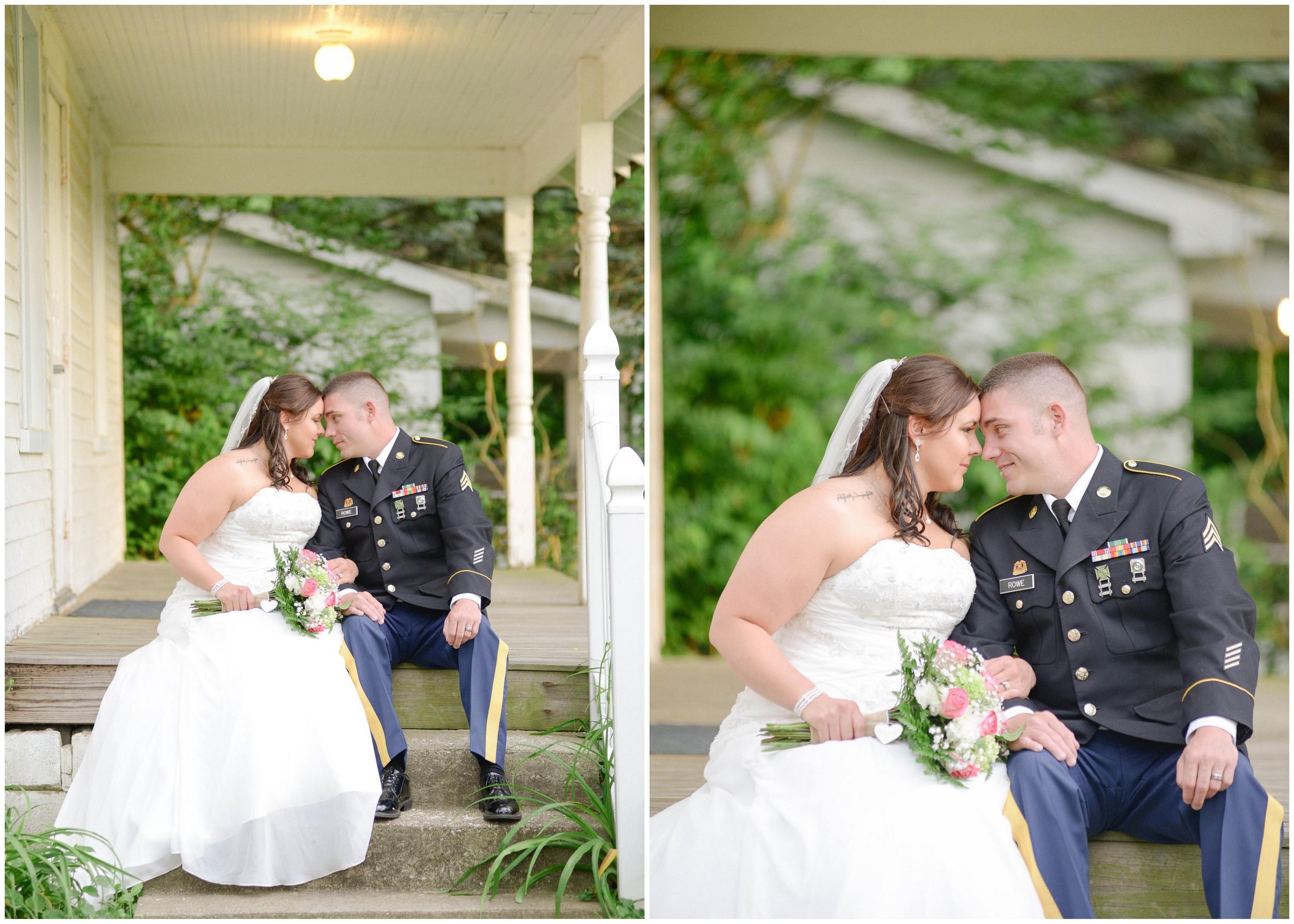 Freewill Baptist Church wedding