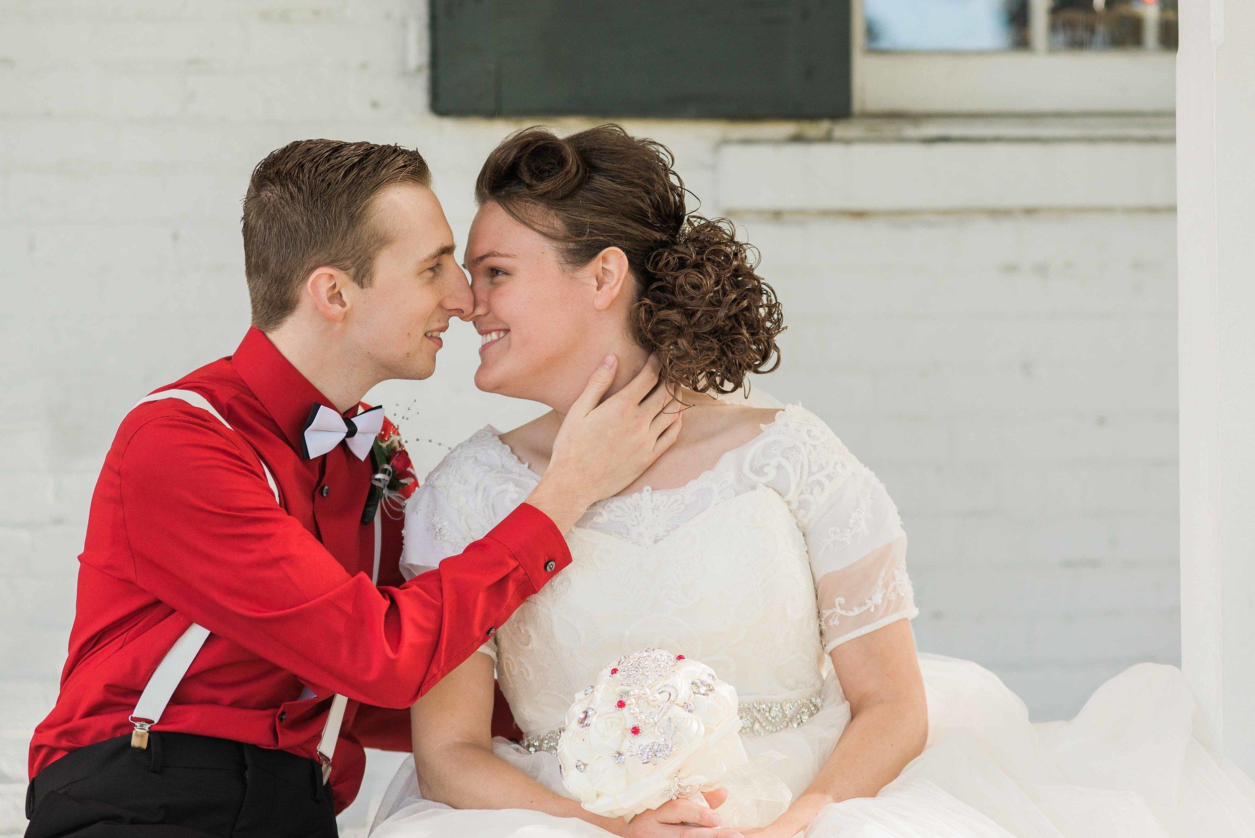 McConnell House, Wurtland, KY wedding