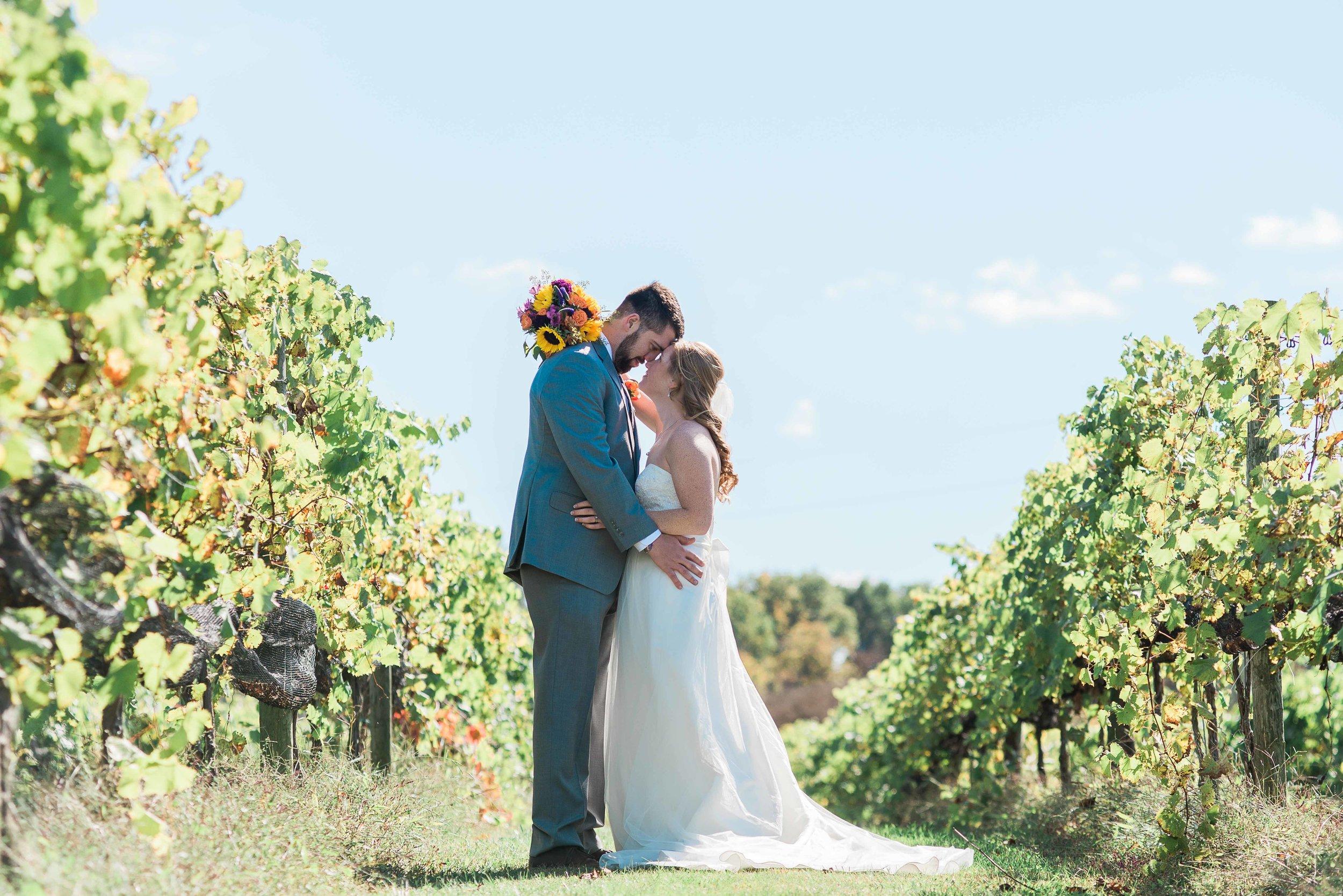 Lovers Leap Winery wedding