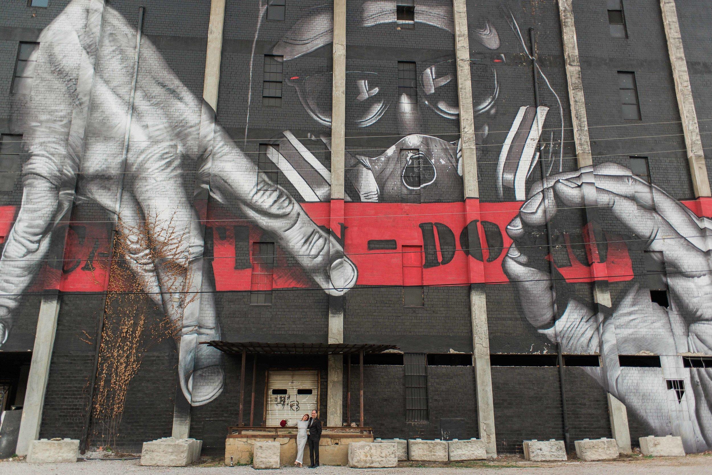 Manchester Street, Lexington, KY murals